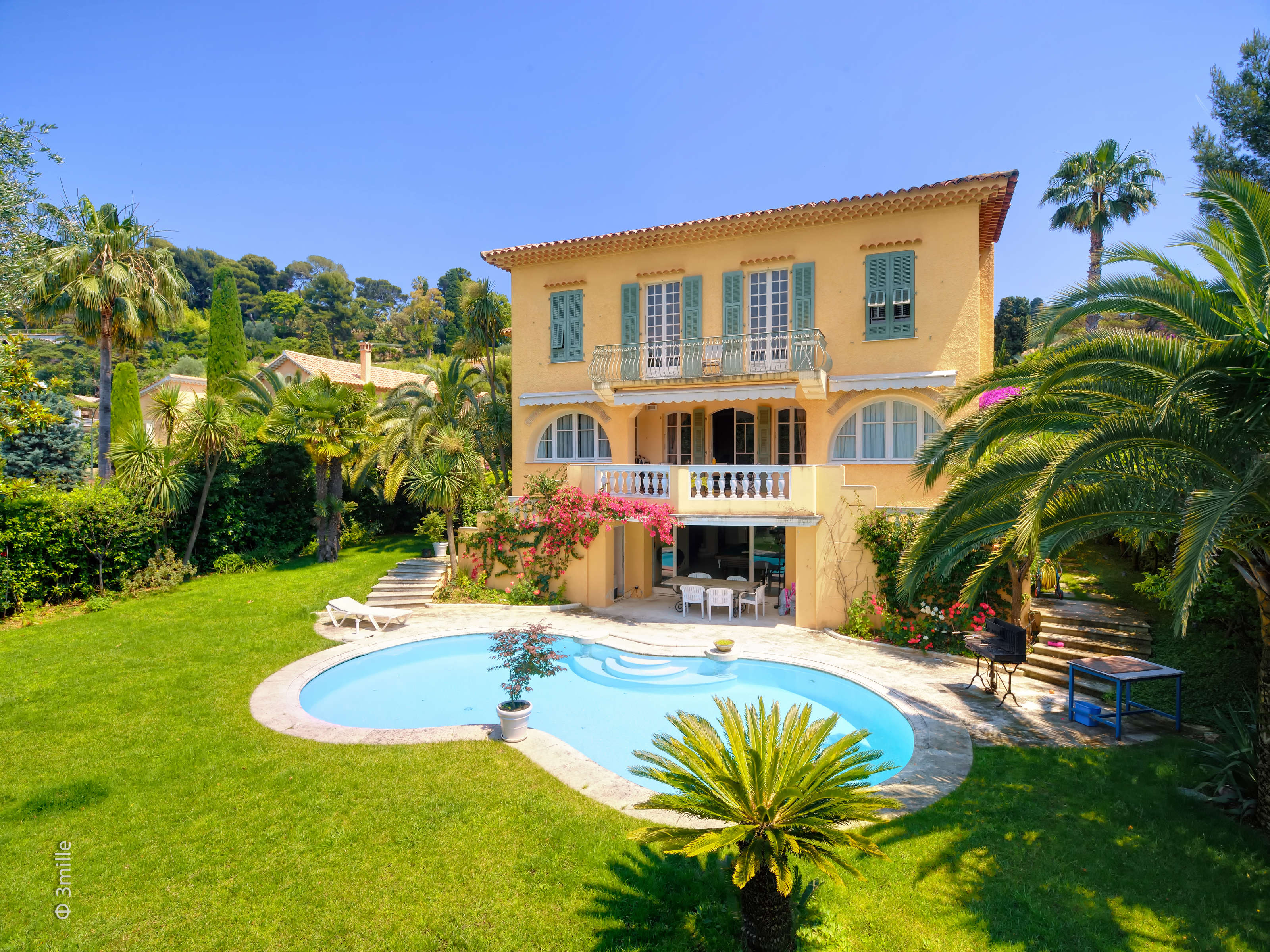 獨棟家庭住宅 為 出售 在 Charming Villa for sale in a private domain, Cap Ferrat Saint Jean Cap Ferrat Saint Jean Cap Ferrat, 普羅旺斯阿爾卑斯藍色海岸 06230 法國