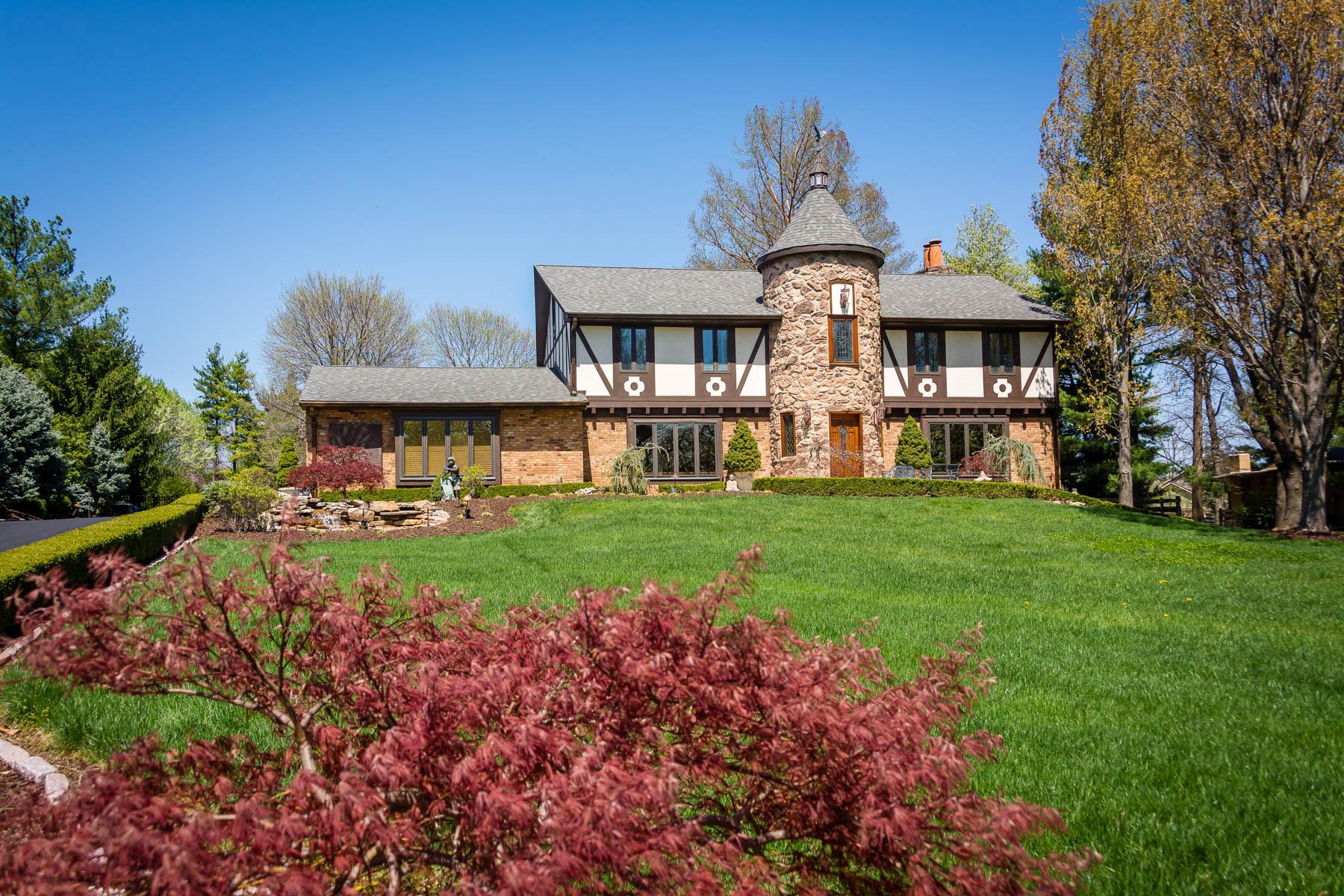 Casa Unifamiliar por un Venta en Sackston Woods 22 Sackston Woods Lane Creve Coeur, Missouri 63141 Estados Unidos