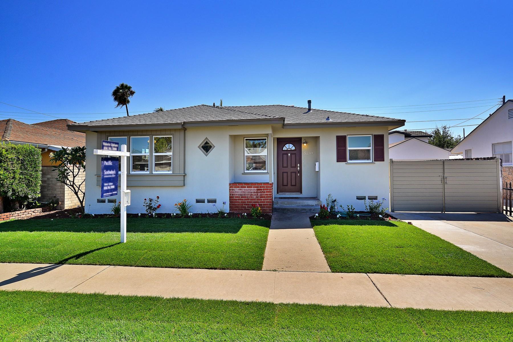 Maison unifamiliale pour l Vente à 5249 Lewison Avenue San Diego, Californie 92120 États-Unis