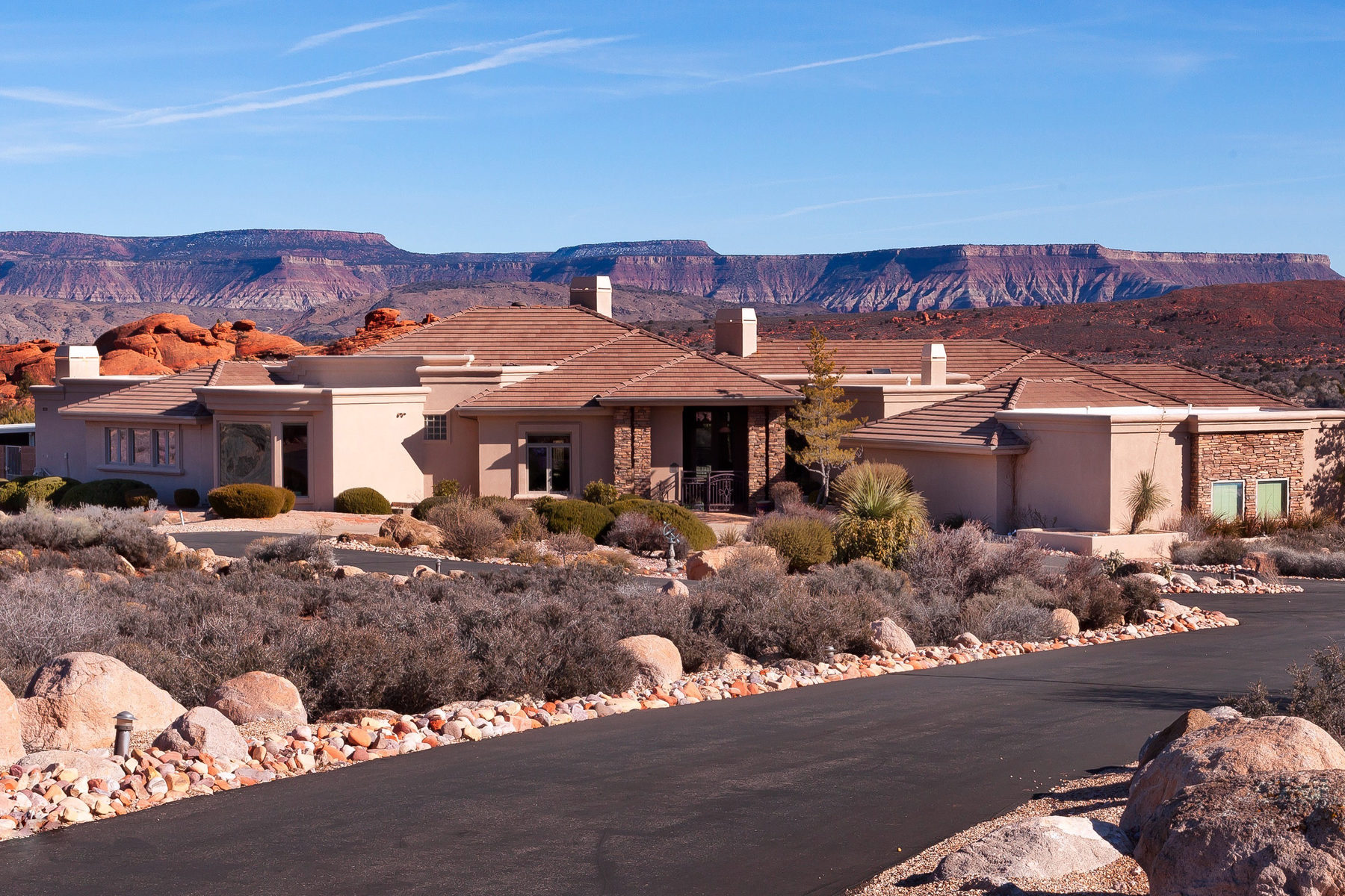 Single Family Home for Sale at Open Vistas and Tranquility 988 N Bonanza Rd Leeds, Utah 84746 United States