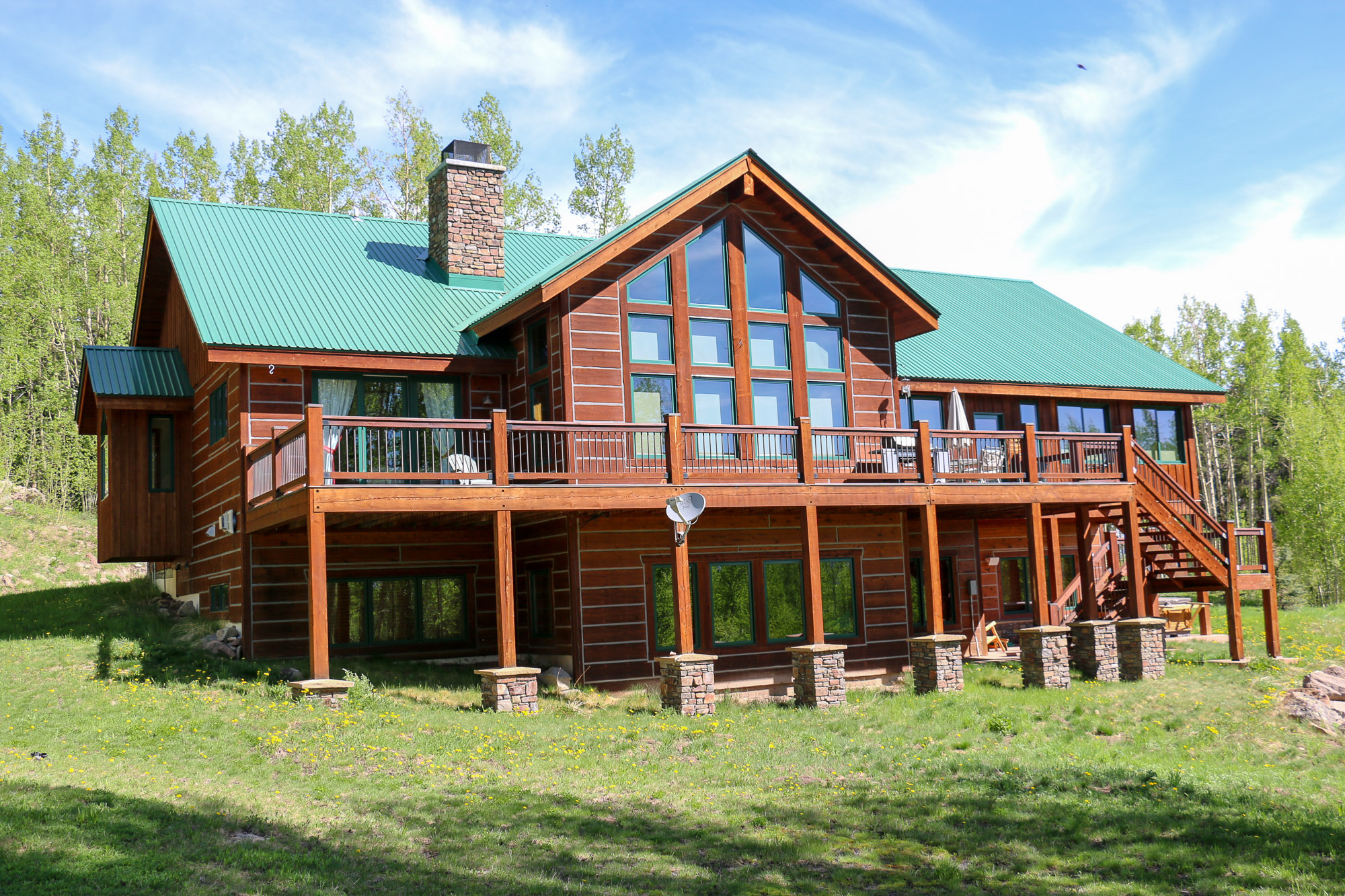 Maison unifamiliale pour l Vente à Majestic & Incredible Offering 341 Red Mountain Ranch Road Crested Butte, Colorado, 81224 États-Unis