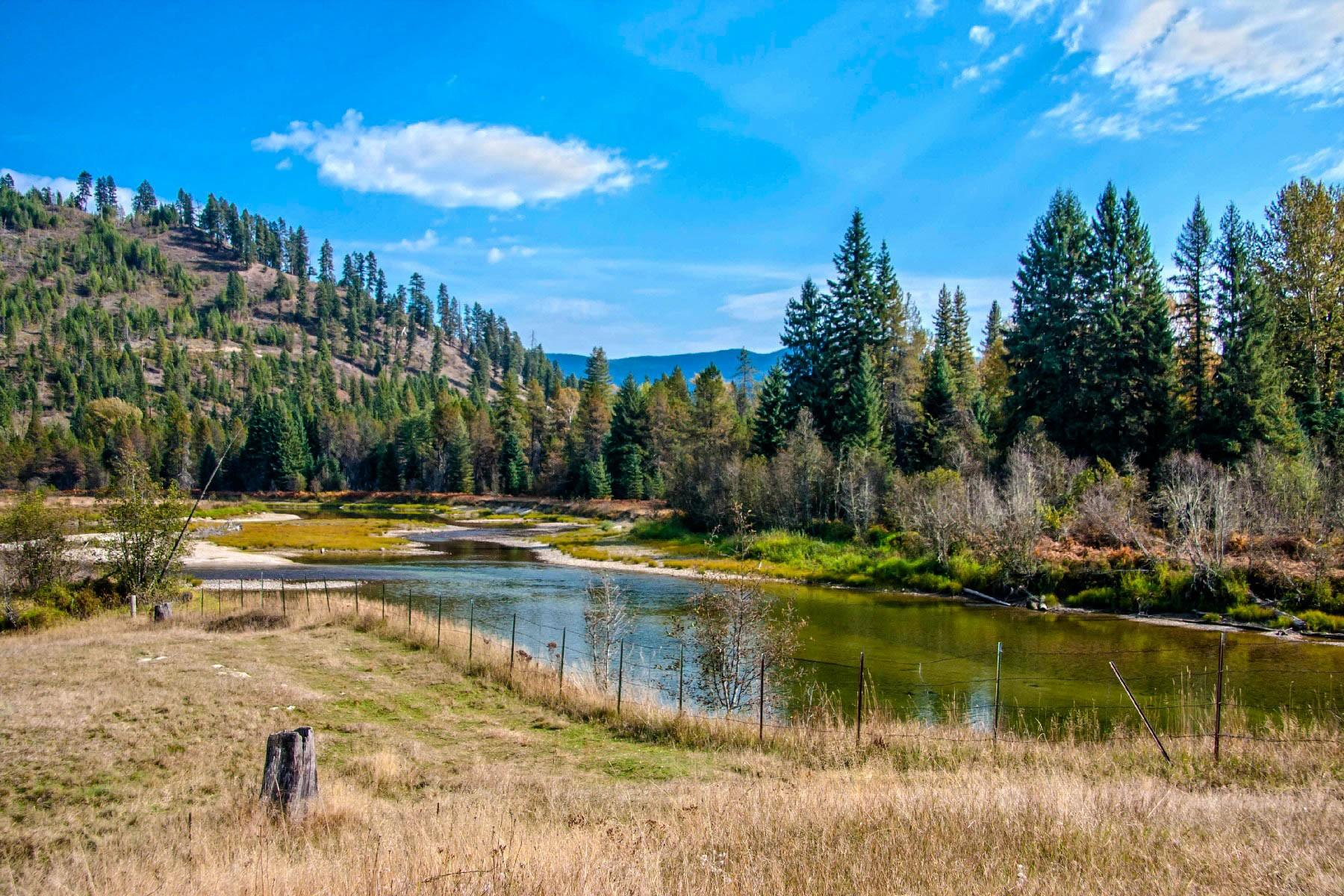 Single Family Home for Sale at Hangumhi Ranch 4827 Gleason McAbee Falls Rd Priest River, Idaho 83856 United States