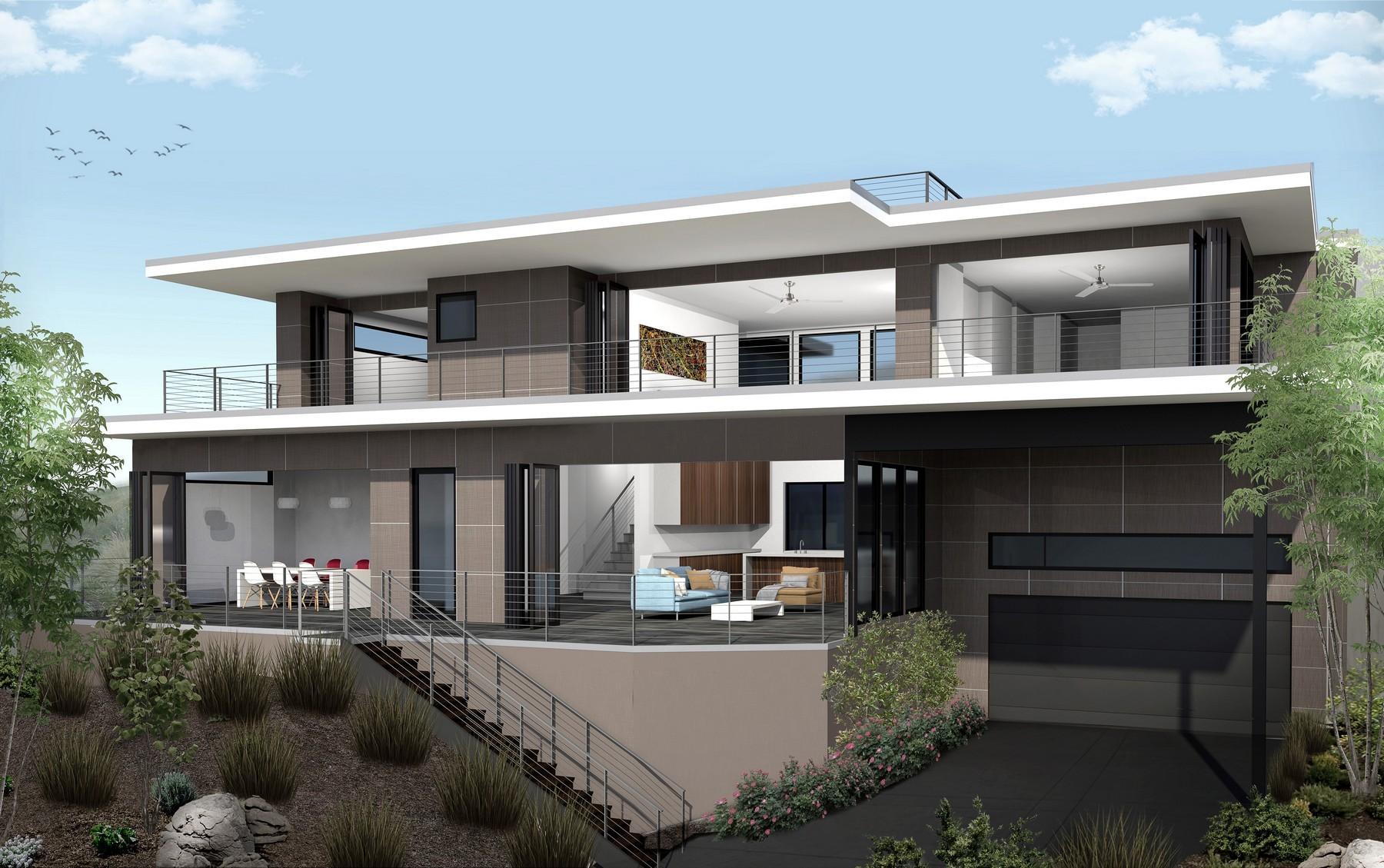 Maison unifamiliale pour l Vente à 5831 Folsom Drive La Jolla, Californie, 92037 États-Unis