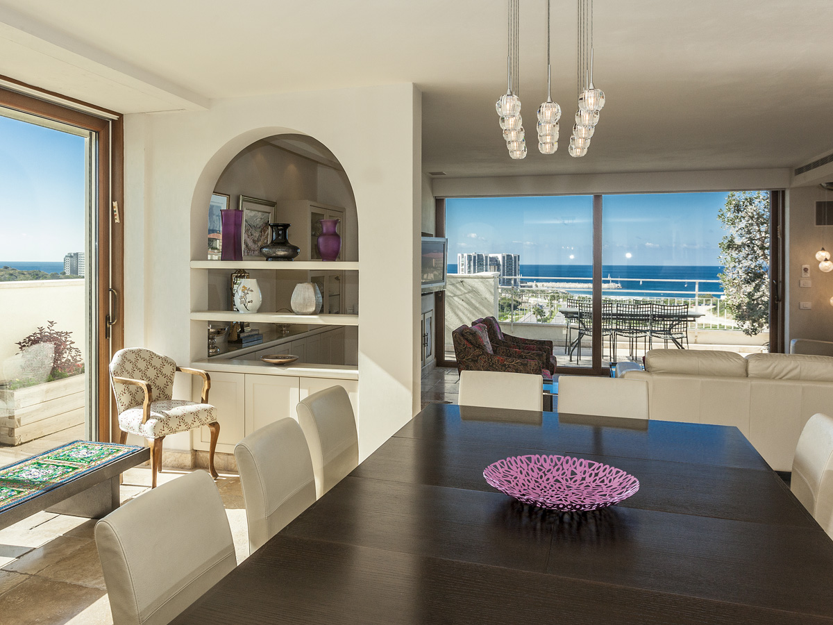 Apartment for Sale at An Amazing One of a Kind Rooftop Penthouse Herzliya Pituach, Israel Israel
