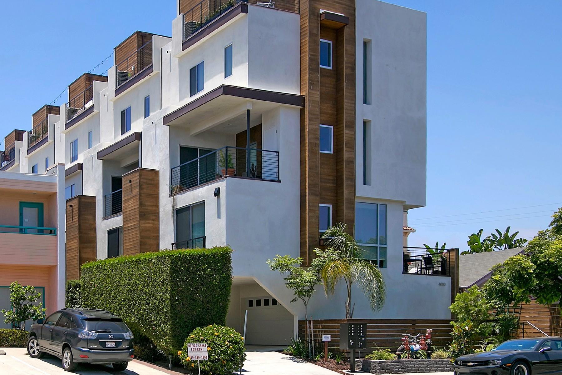 Einfamilienhaus für Verkauf beim 4080 Goldfinch Street 2 Mission Hills, San Diego, Kalifornien 92103 Vereinigte Staaten