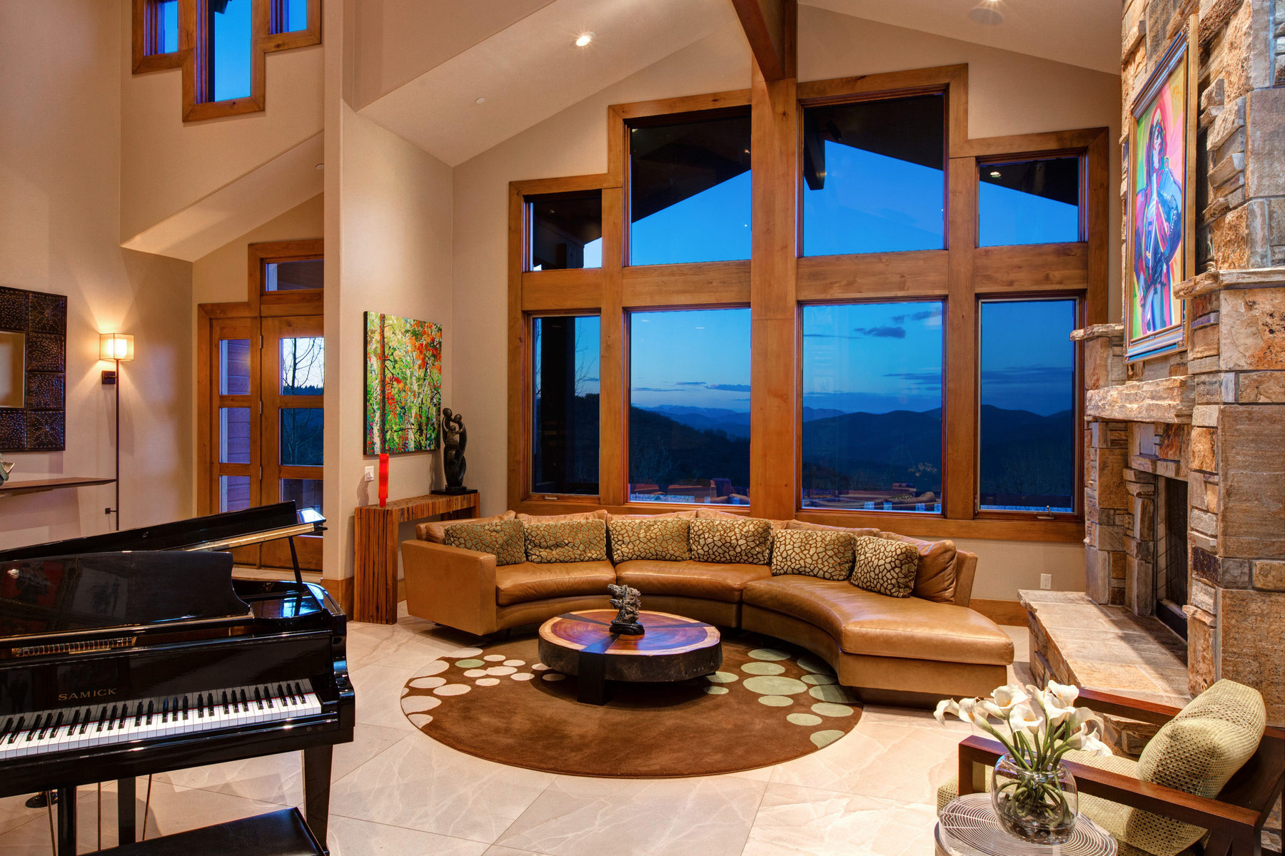 sales property at Mountain Modern with Big Views set on Private ¾ Acre Homesite
