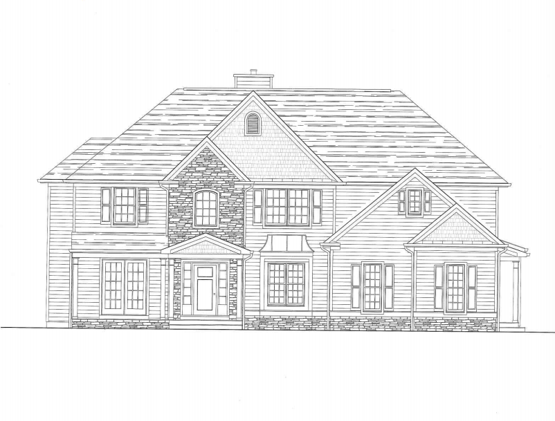 Villa per Vendita alle ore Fabulous New Construction 171 Shadybrook Lane Princeton, New Jersey, 08540 Stati Uniti