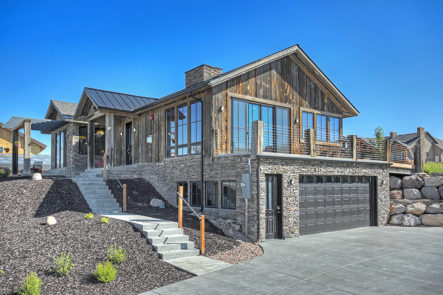 Single Family Home for Sale at Delightful Custom Home with Fabulous Views 6844 Mineral Loop Park City, Utah 84098 United States