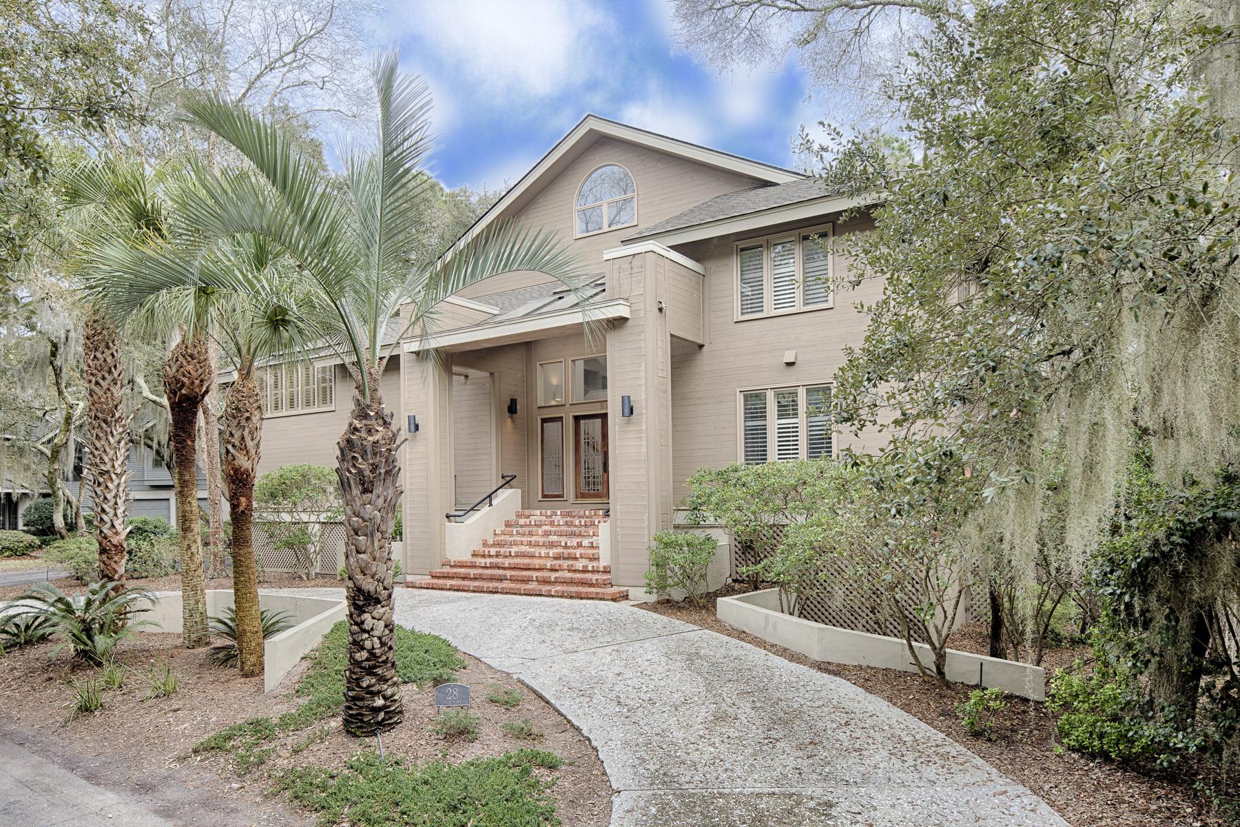 Einfamilienhaus für Verkauf beim 28 Duck Hawk Road Hilton Head Island, South Carolina 29928 Vereinigte Staaten