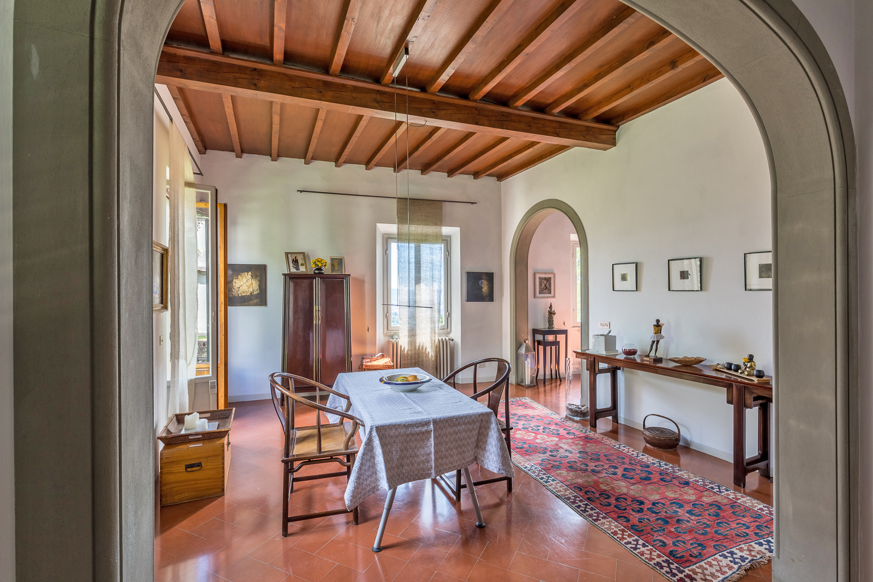 Additional photo for property listing at Bright apartment with private garden Via della Lastra Firenze, Florence 50139 Italia