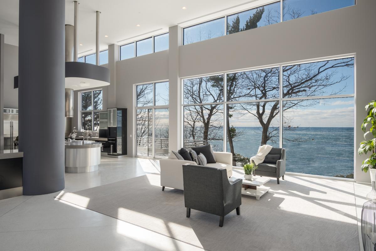 Maison unifamiliale pour l Vente à Lake Michigan Beach Estate 18501 North Shore Est Rd Spring Lake, Michigan, 49456 États-Unis