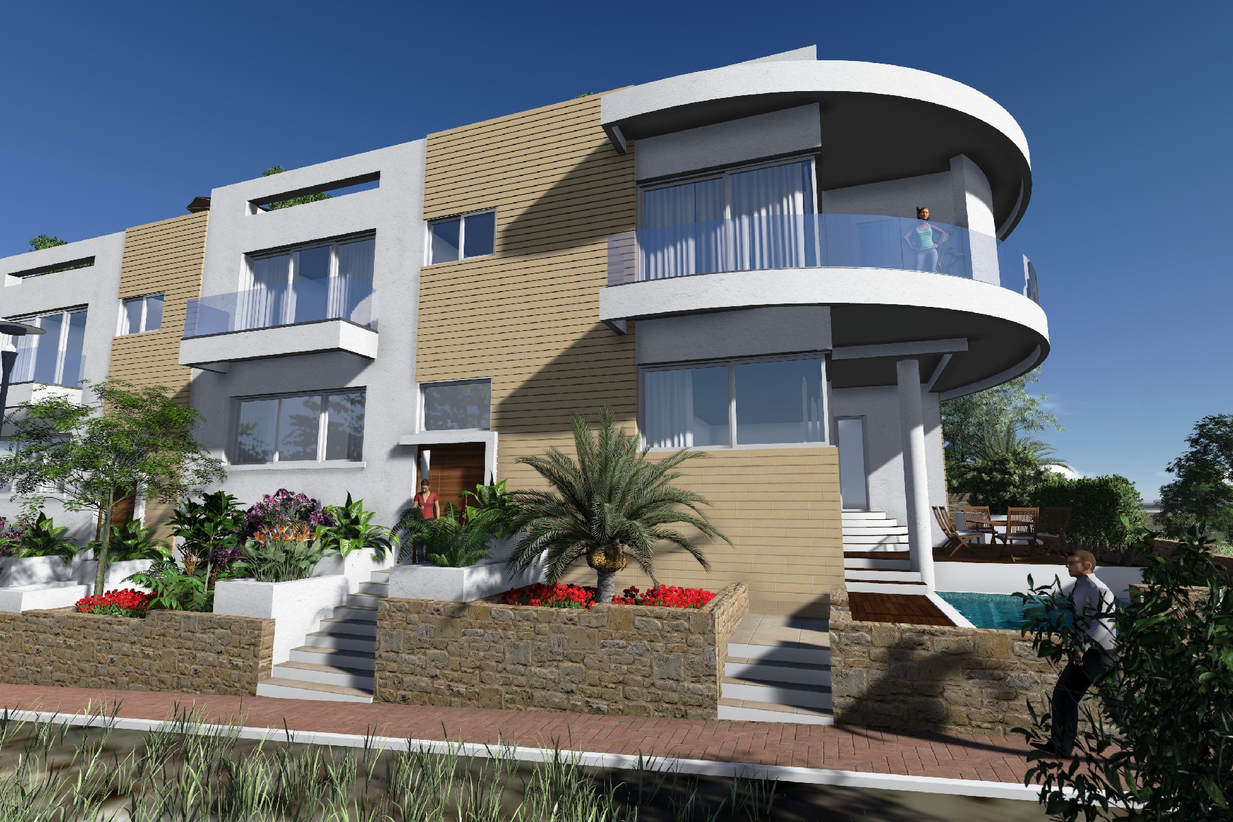Other Residential for Sale at Luxury Terraced Houses Bahar Ic Caghaq, Sliema Valletta Surroundings Malta