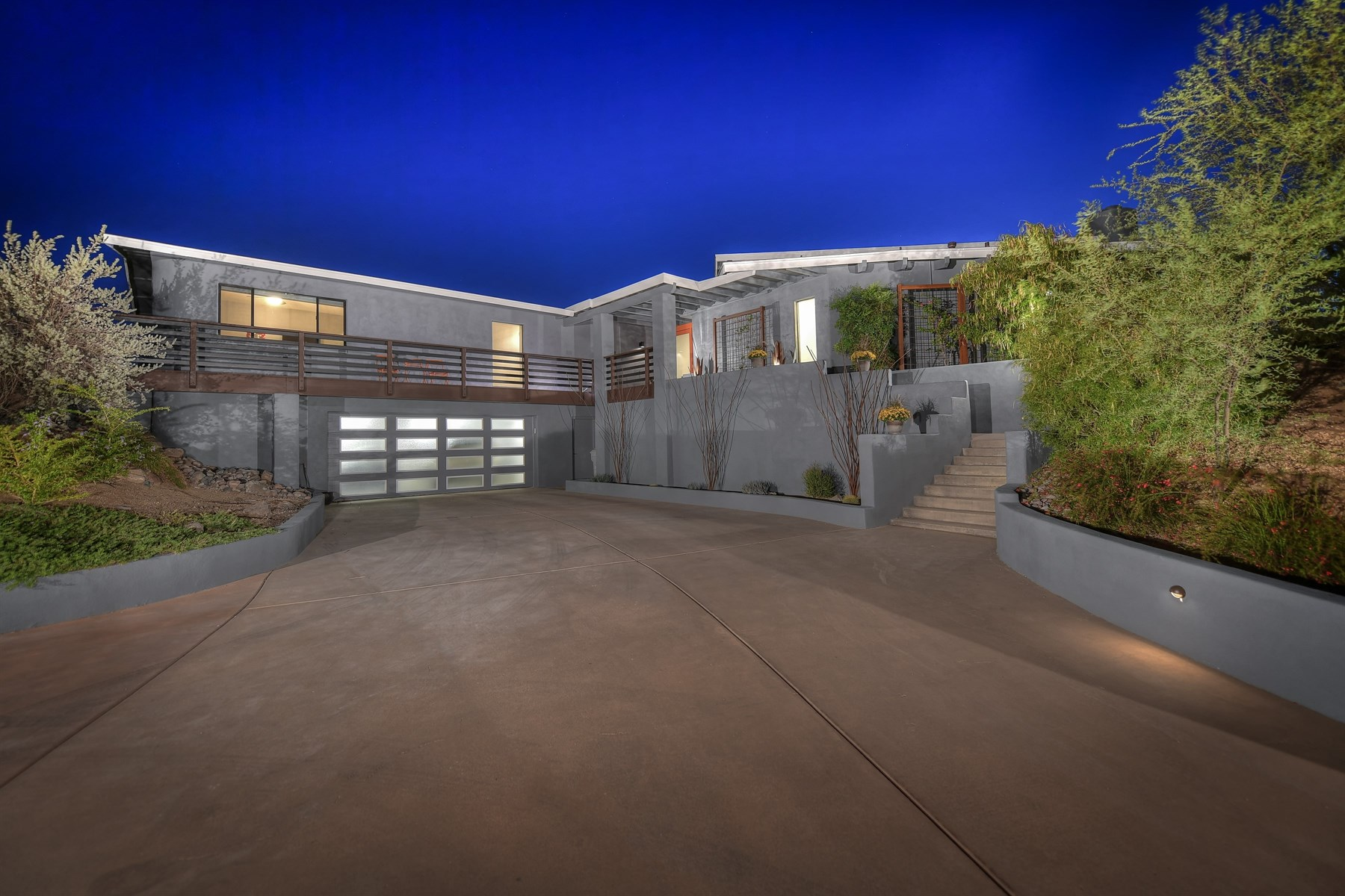 sales property at Carefree Contemporary with City Light Views