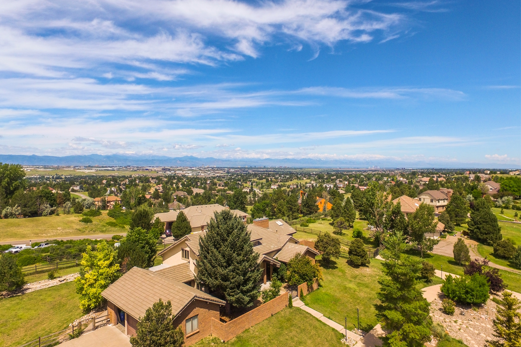 Single Family Home for Sale at Centennial Home 7695 South Flanders Street Centennial, Colorado 80016 United States