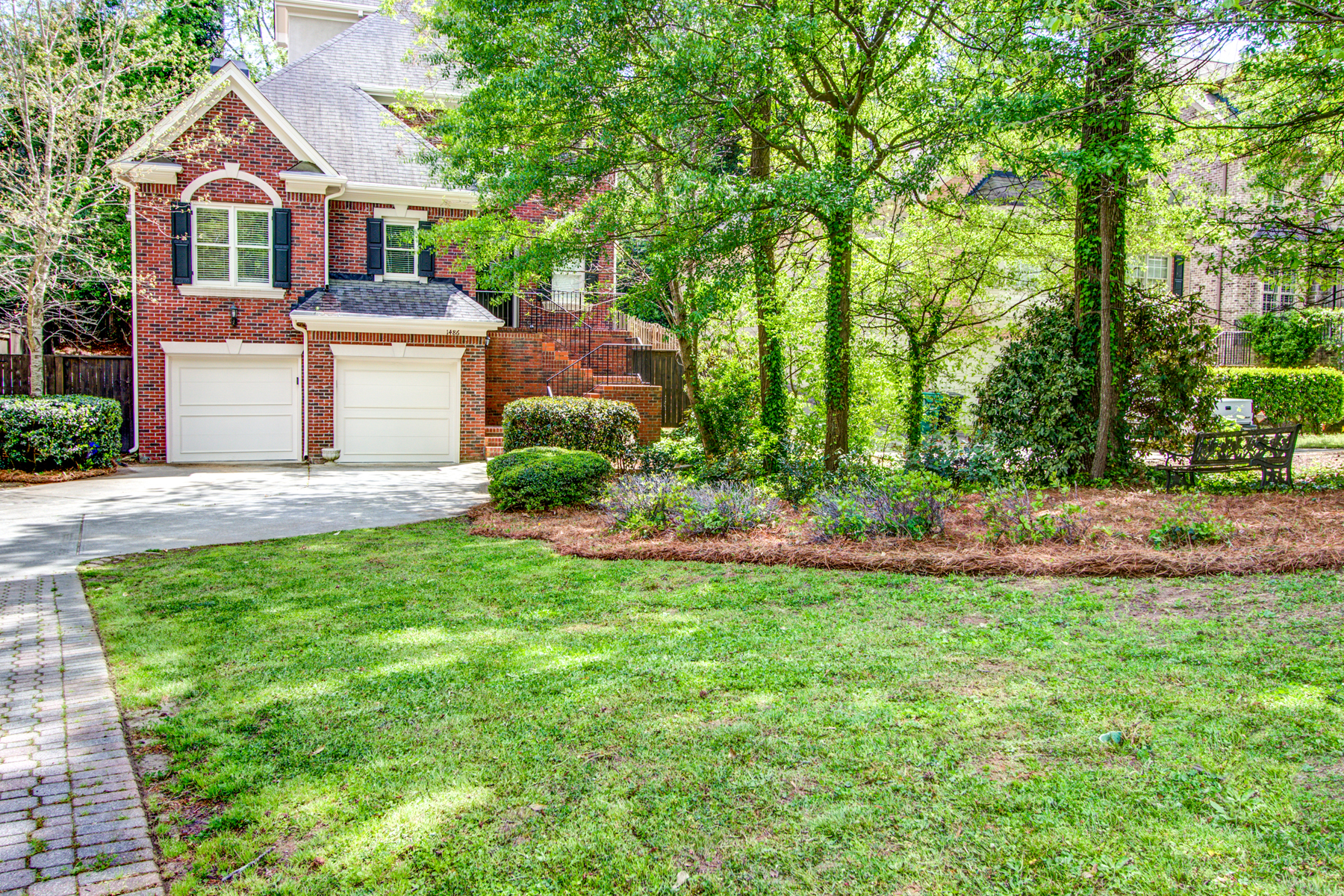 sales property at Beautiful Traditional Brick Home In Brookhaven