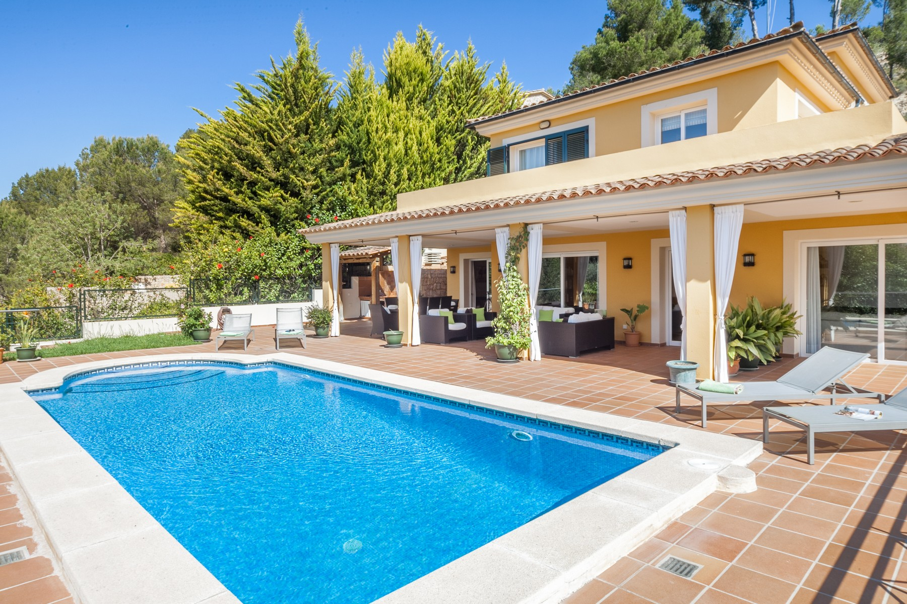 Single Family Home for Sale at Villa with panoramic views in Bendinat Bendinat, Mallorca, 07003 Spain