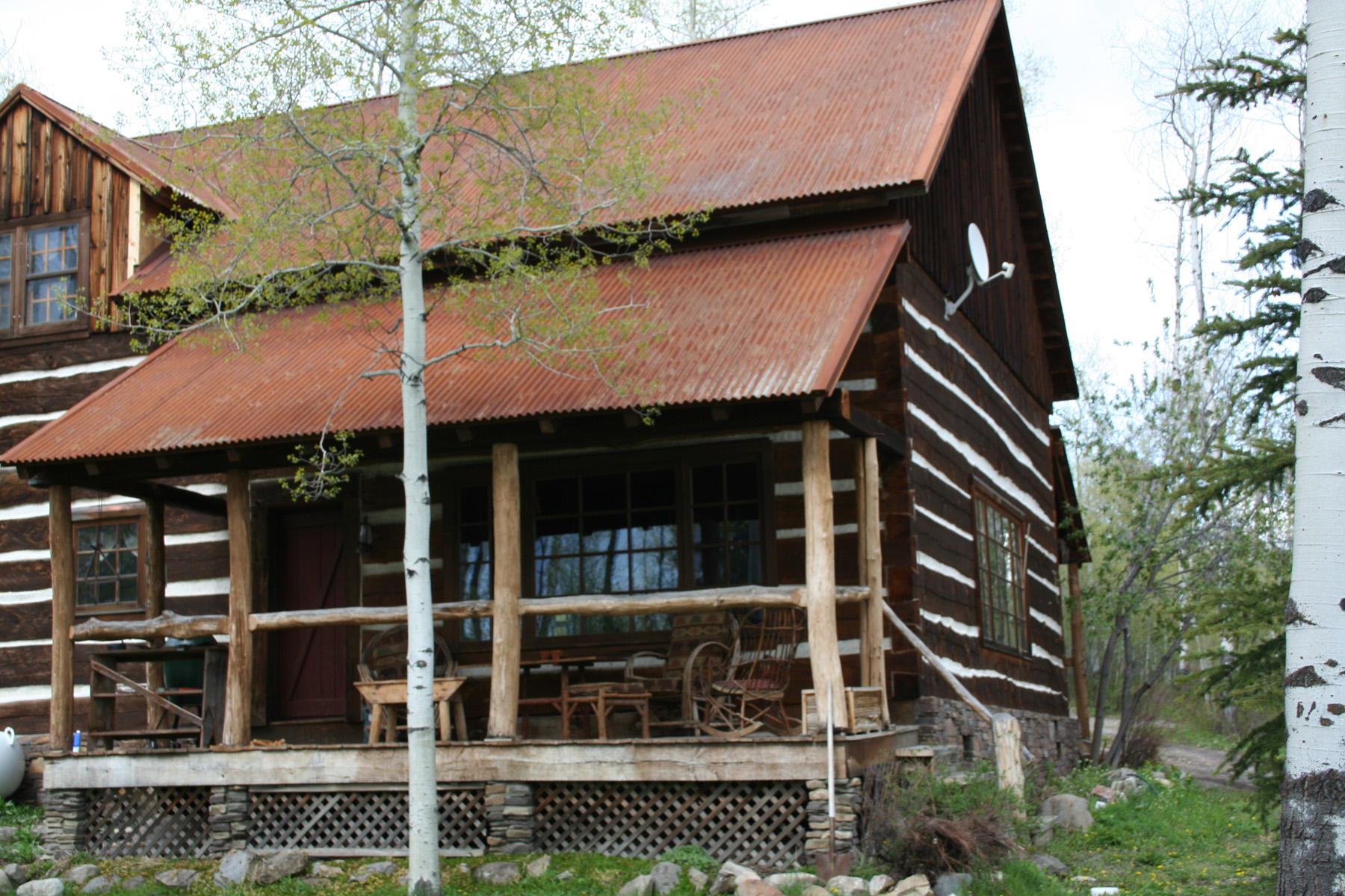 Property For Sale at Rustic Retreat in Teton Wilderness