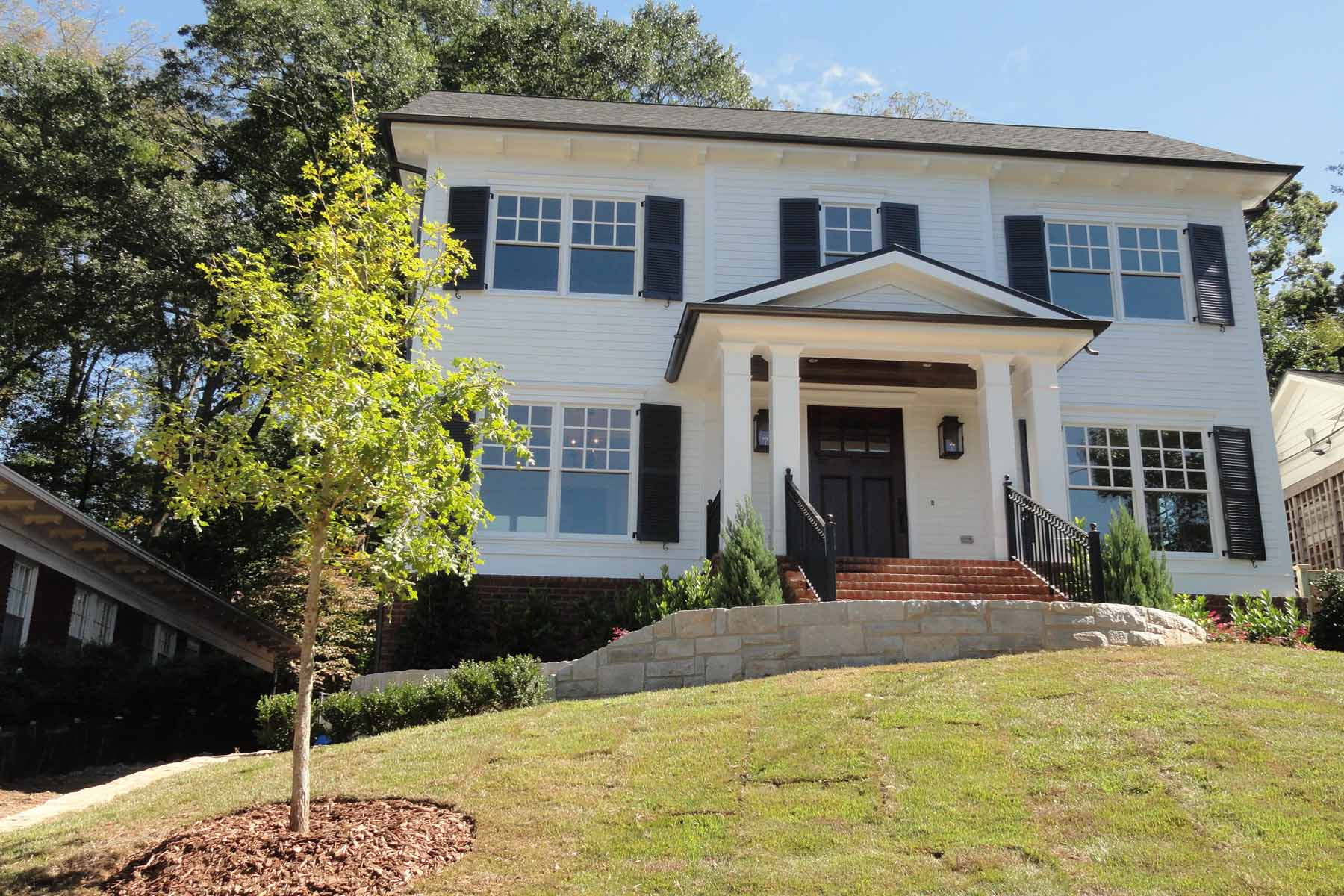 Single Family Home for Sale at Quality New Construction located in the popular intown neighborhood of VH 1158 Virginia Avenue NE Virginia Highland, Atlanta, Georgia, 30306 United States