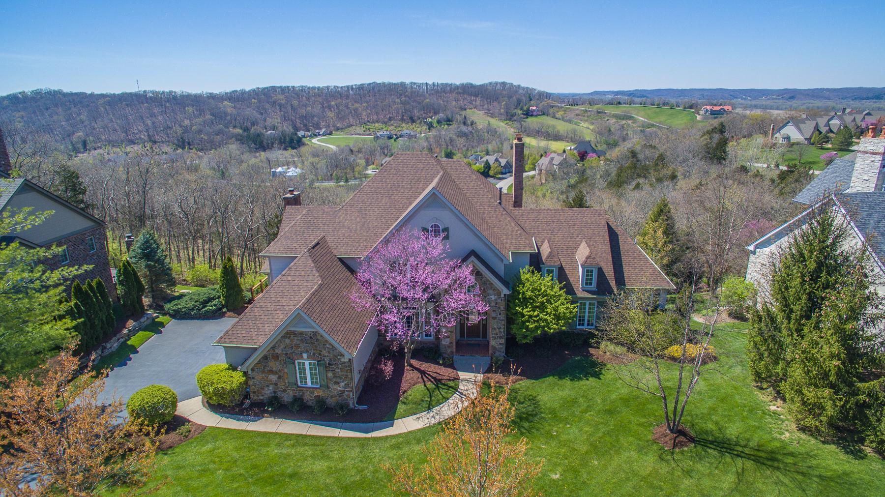獨棟家庭住宅 為 出售 在 Merlot Lane 345 Merlot Lane St. Albans, 密蘇里州, 63073 美國