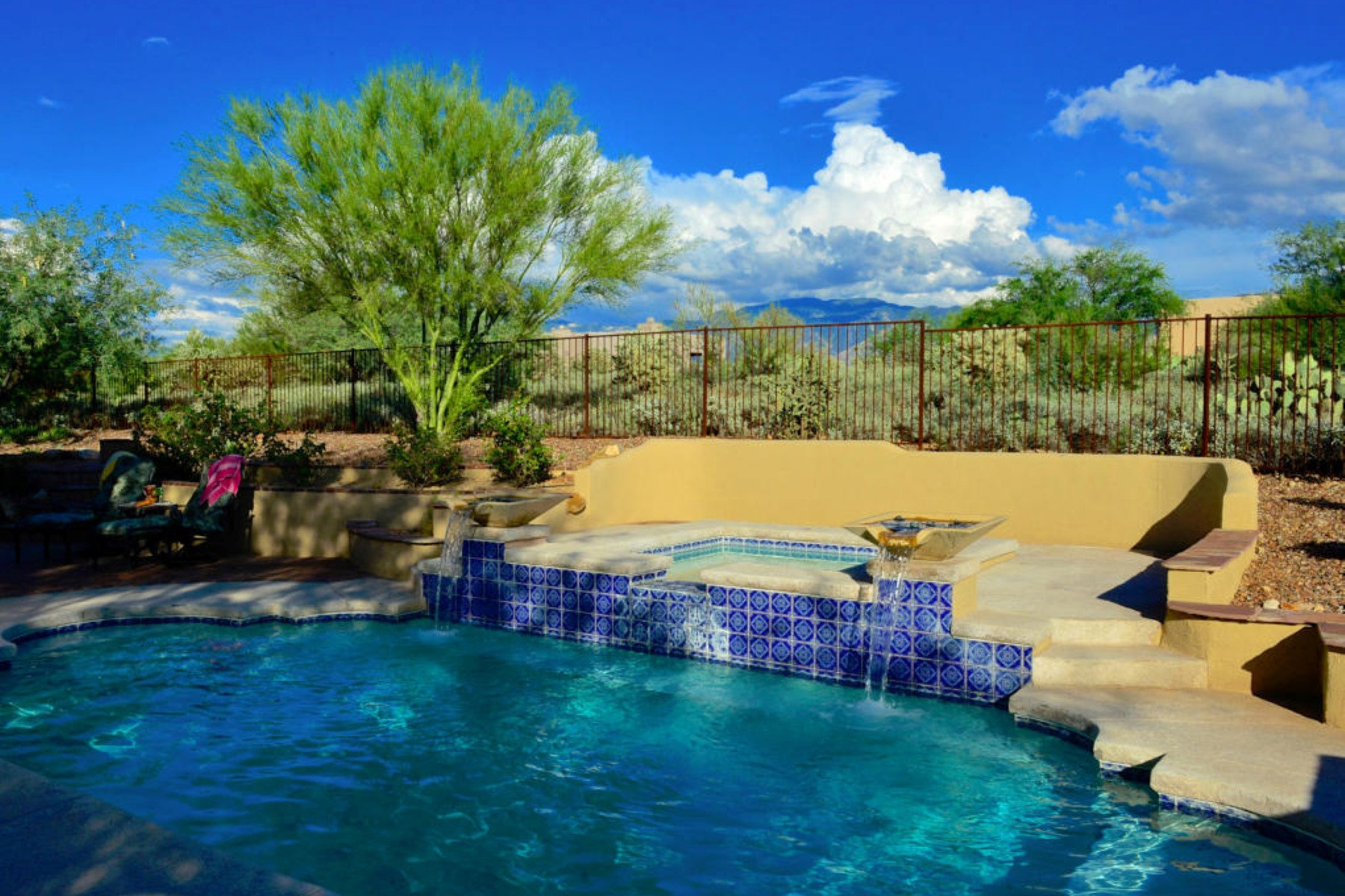 Single Family Home for Sale at Scenic, Peaceful And Gorgeous Private Home On 1.28 Acres In Gated Coyote Ridge 12316 N Cloud Ridge Drive Oro Valley, Arizona 85755 United States