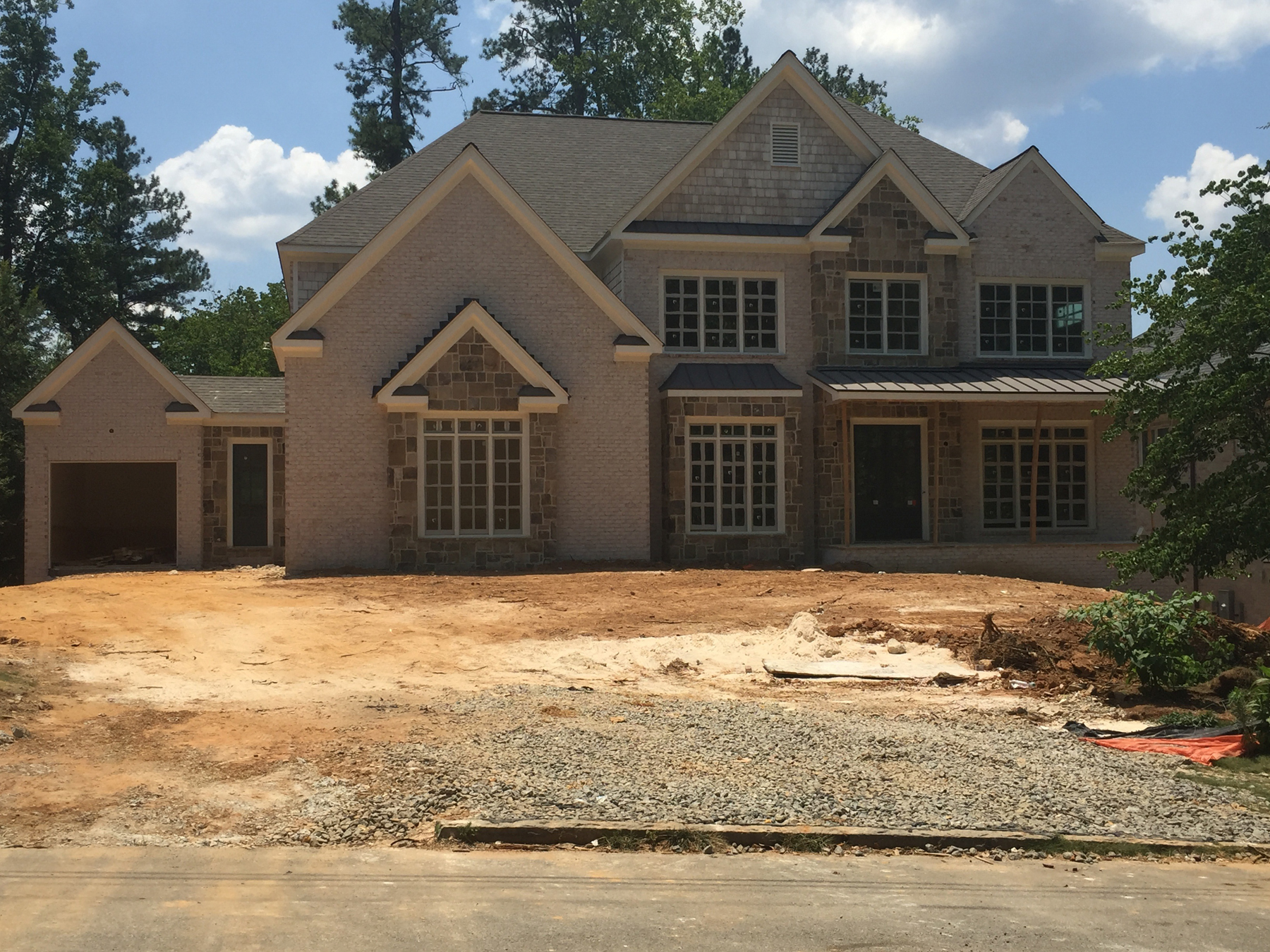 Single Family Home for Sale at Custom Home Under Construction 580 High Point Lane Atlanta, Georgia, 30342 United States