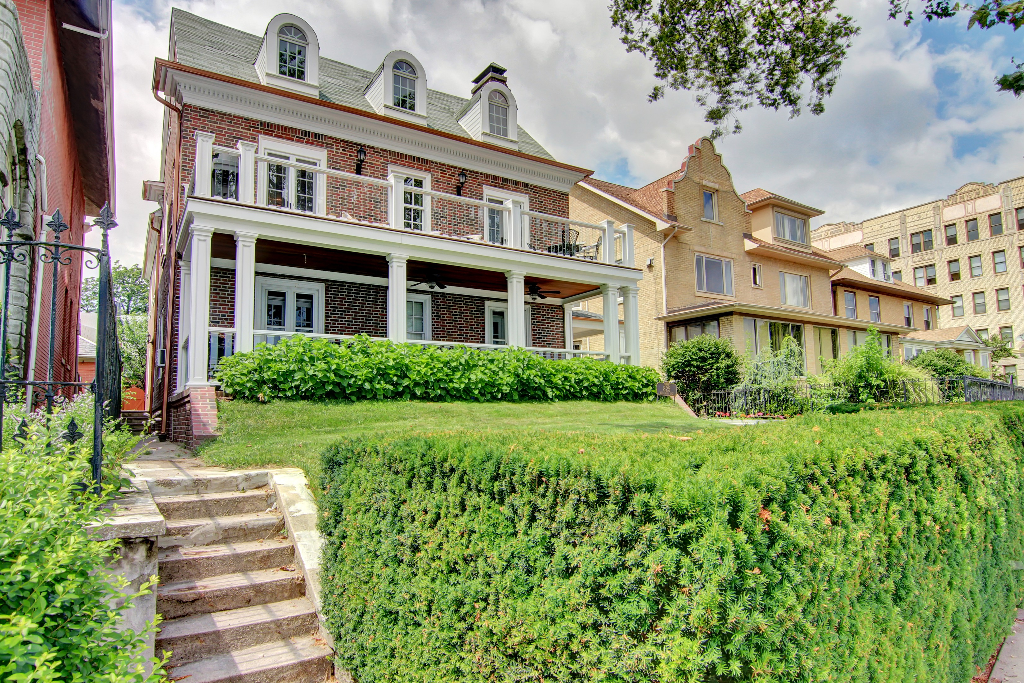 Property Of Panoramic views, custom design and detail blended with historic charm