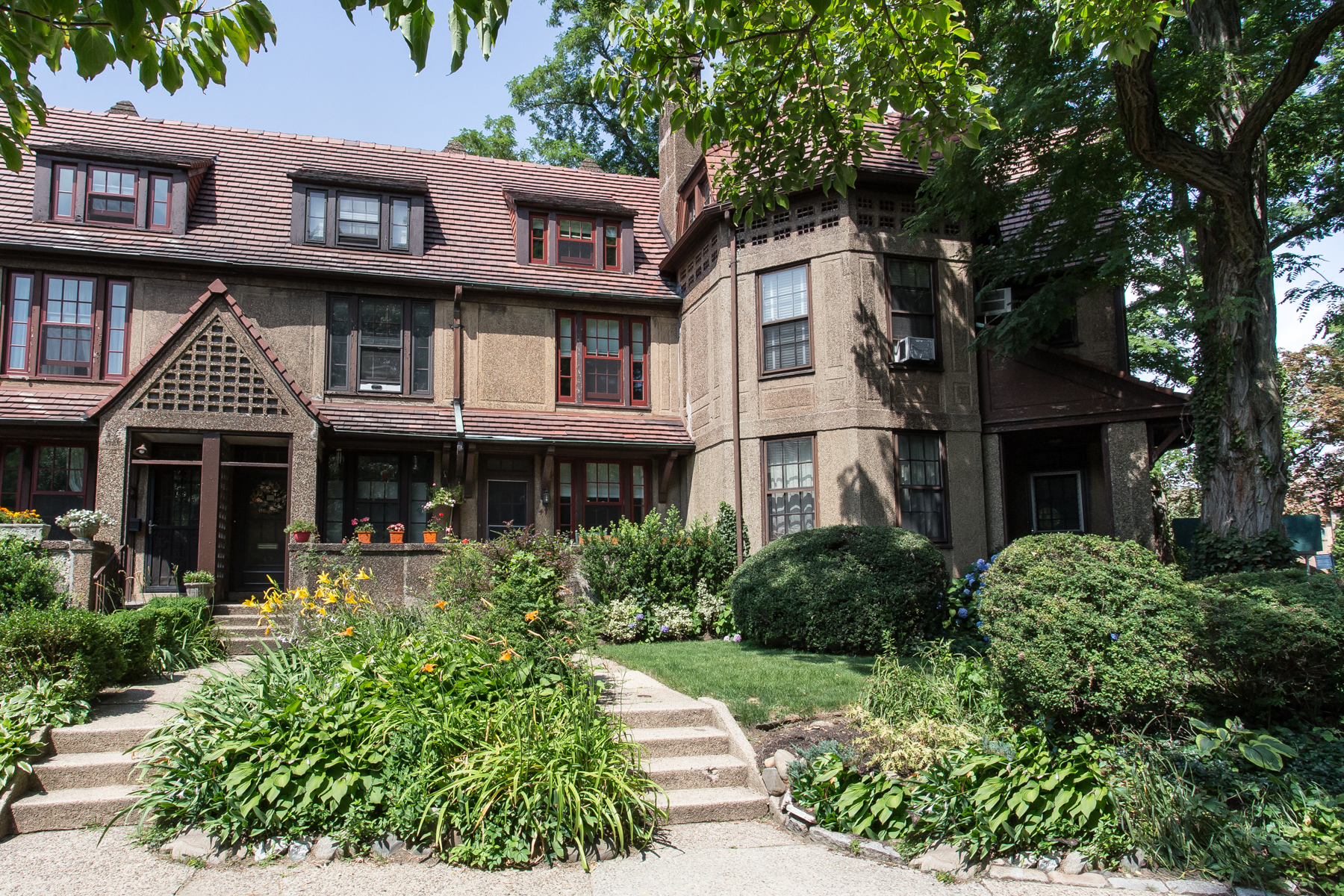 "Townhouse for Sale at ""UPSCALE GARDENS TOWNHOUSE WITH CITY STYLE"" 47 Burns Street, Forest Hills Gardens, Forest Hills, New York 11375 United States"