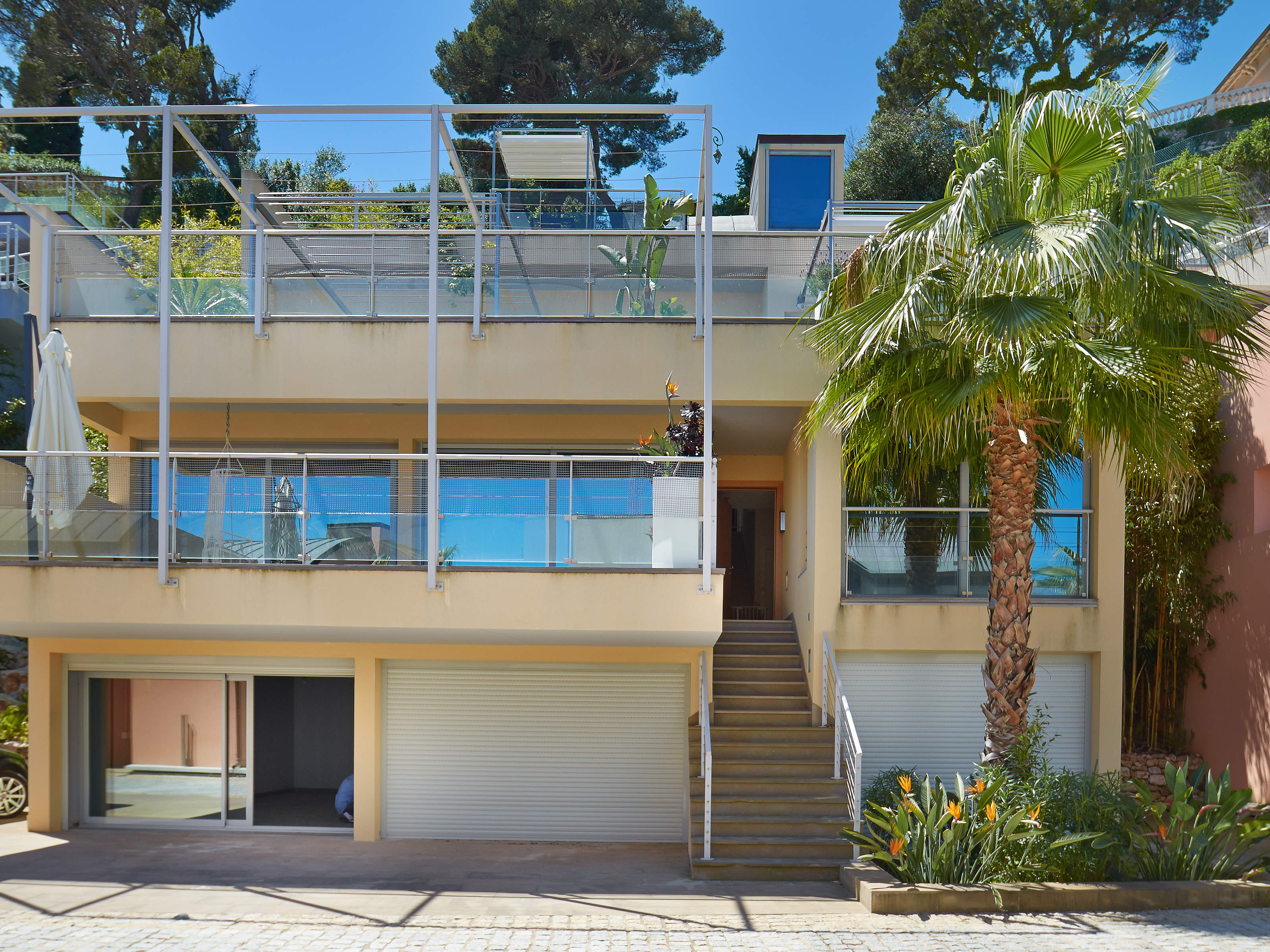 단독 가정 주택 용 임대 에 Contemporary design villa in the heart of Saint Jean Cap Ferrat Saint Jean Cap Ferrat, 프로벤스 앞ㄹ프스 코테 D'Azur 06230 프랑스