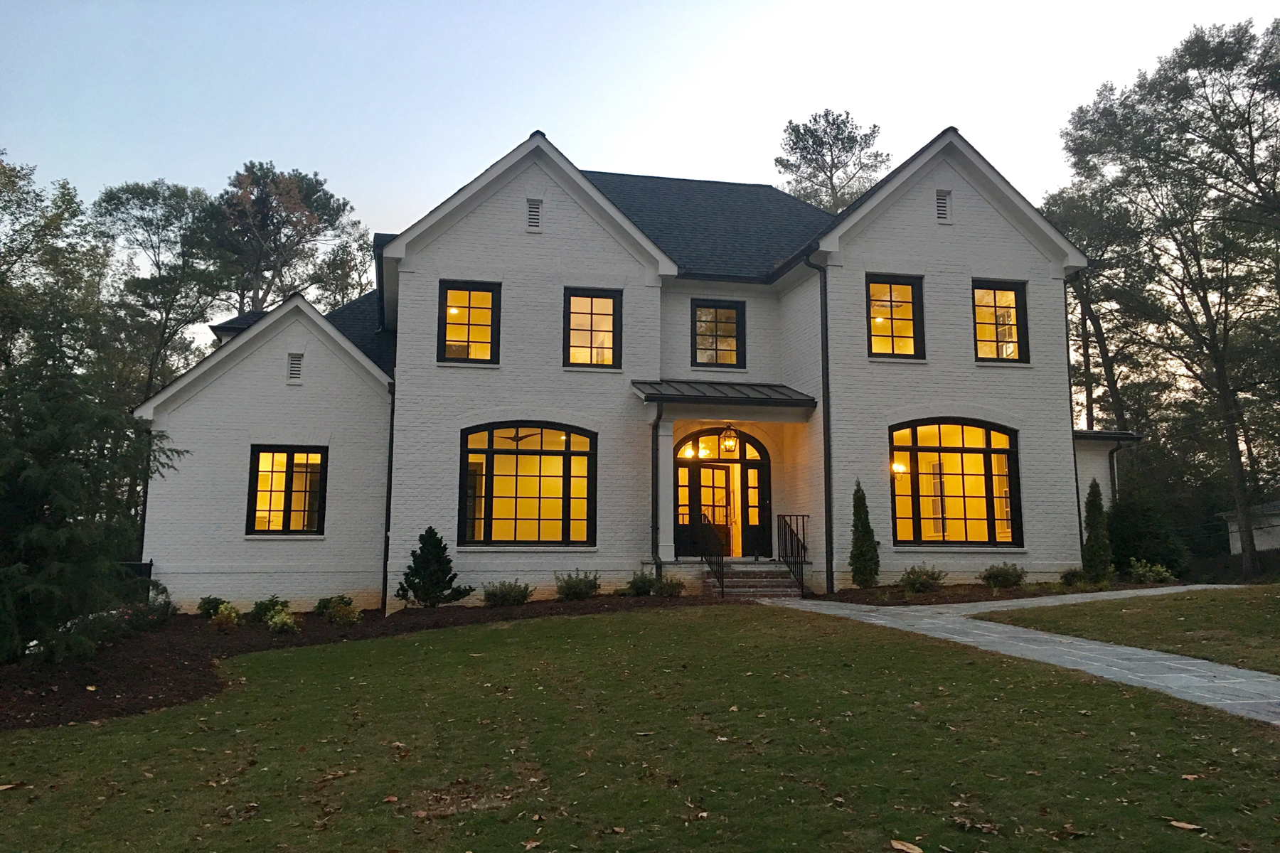 獨棟家庭住宅 為 出售 在 Buckhead New Construction Home 1248 Peachtree Battle Avenue NW Atlanta, 喬治亞州 30327 美國