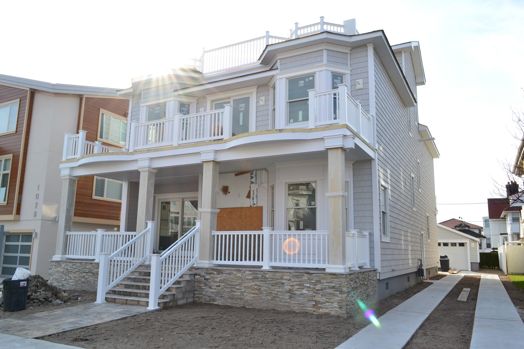 Single Family Home for Sale at 102 S Dudley Ave Ventnor, New Jersey 08406 United States