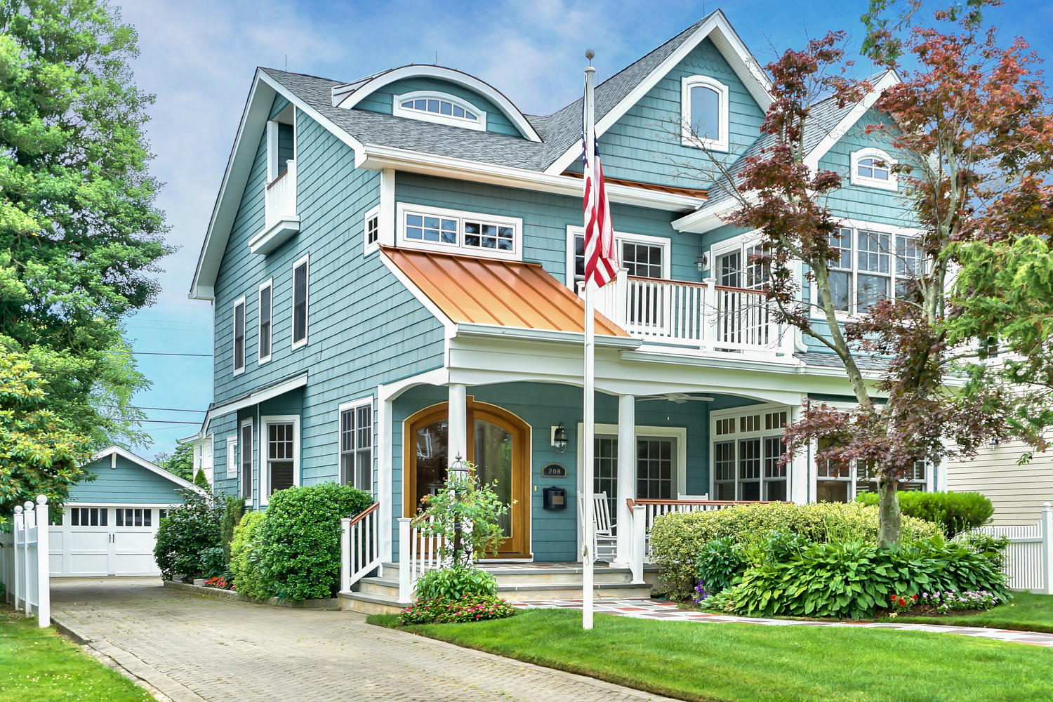 Single Family Home for Sale at A Classic Sea Girt Home! 208 Brooklyn Boulevard Sea Girt, New Jersey 08750 United States