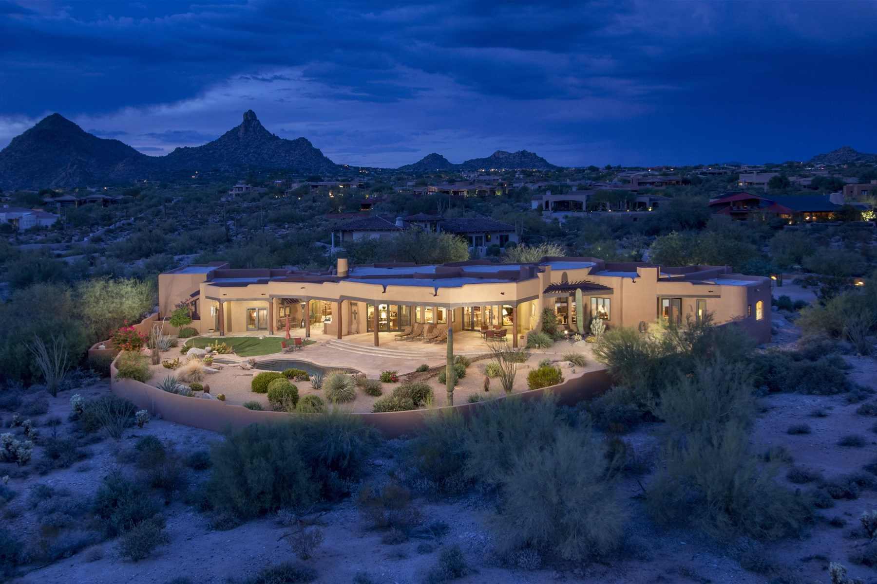 Property For Sale at Dream north scottsdale estate with stunning city and mountain views