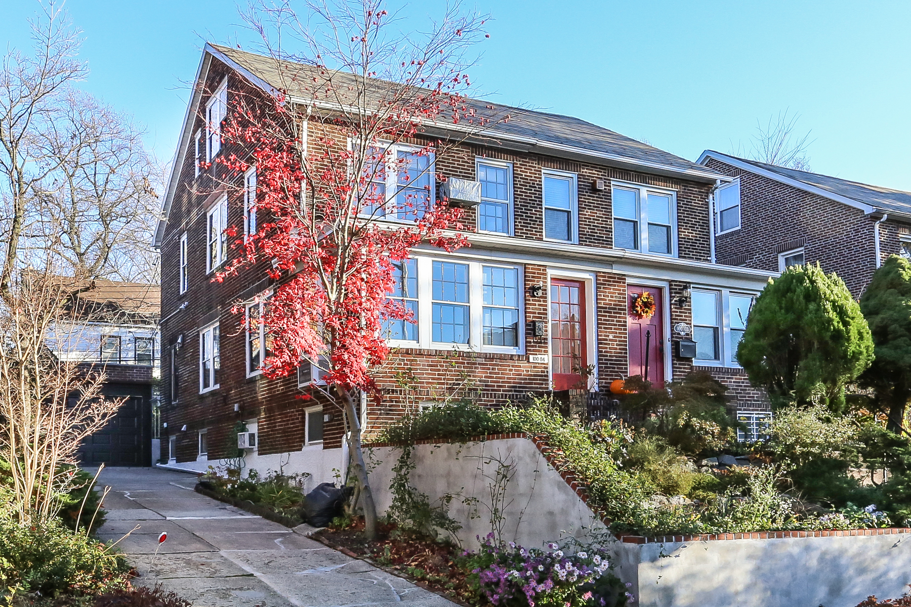 "Townhouse for Sale at ""STUNNING SEMI-ATTACHED BRICK TOWNHOUSE"" 100-04 Ascan Avenue, Forest Hills, New York 11375 United States"