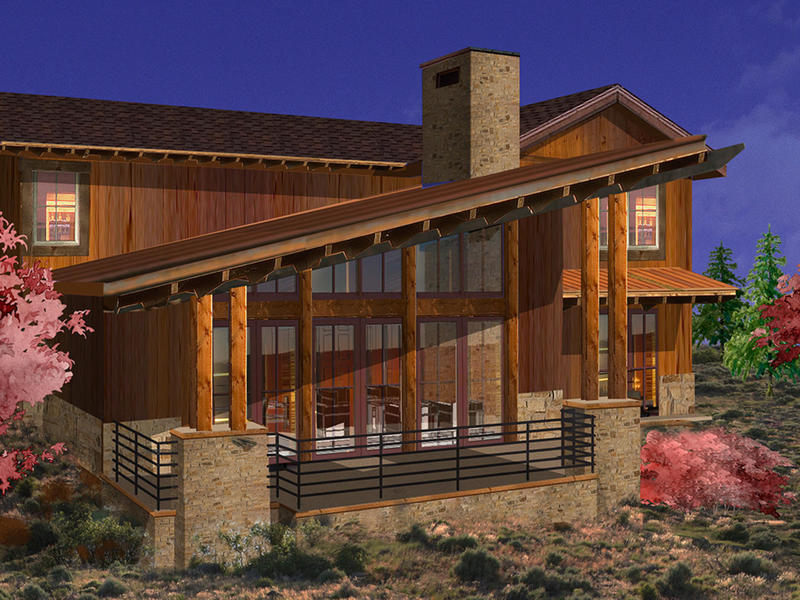 Casa para uma família para Venda às Luxury Promontory Trappers Cabin with a Fully Sponsored Club Membership 8136 Western Sky Lot 40 Park City, Utah 84098 Estados Unidos