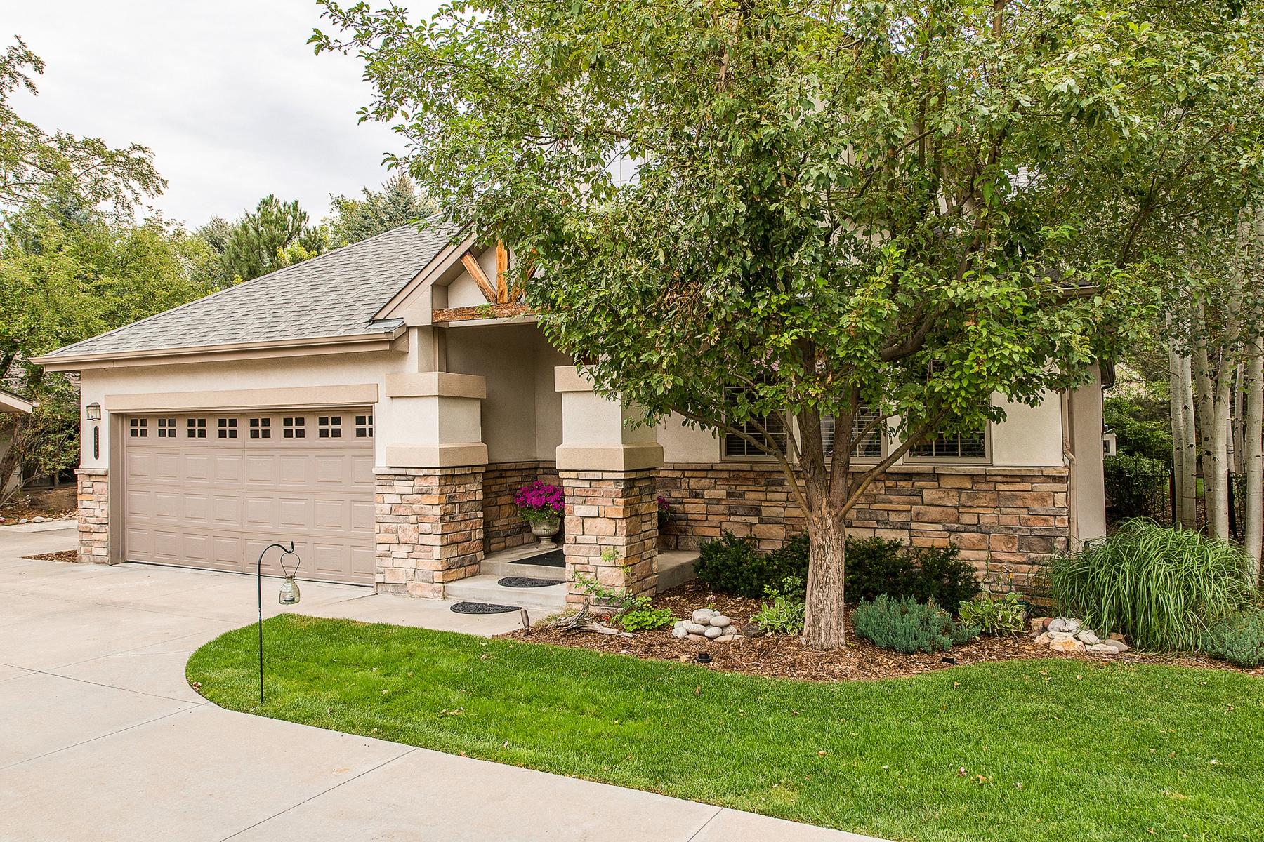 단독 가정 주택 용 매매 에 Sophisticated Single Family Home on a Private Drive in Cherry Creek 2825 East Alameda Avenue Cherry Creek, Denver, 콜로라도 80209 미국