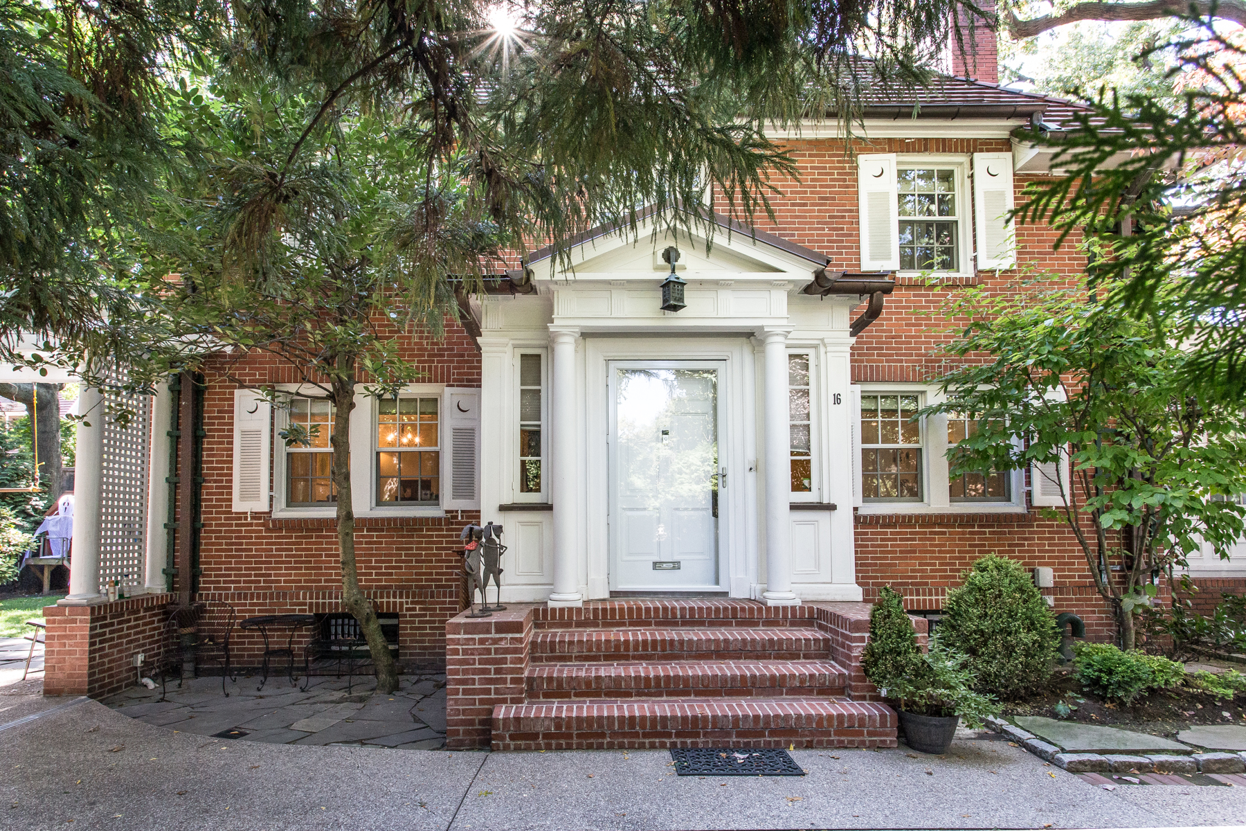 "Single Family Home for Sale at ""BEAUTIFULLY DESIGNED & IMPECCABLY RESTORED"" 16 Slocum Crescent, Forest Hills Gardens, Forest Hills, New York 11375 United States"