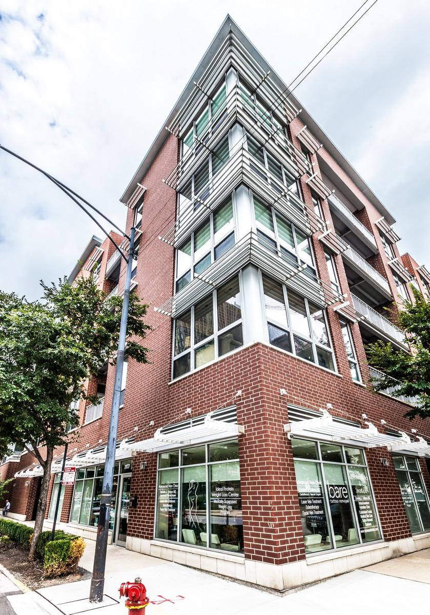 独户住宅 为 销售 在 Stunning Corner Unit 2035 S Indiana Avenue Unit 201 Near South Side, 芝加哥, 伊利诺斯州, 60616 美国
