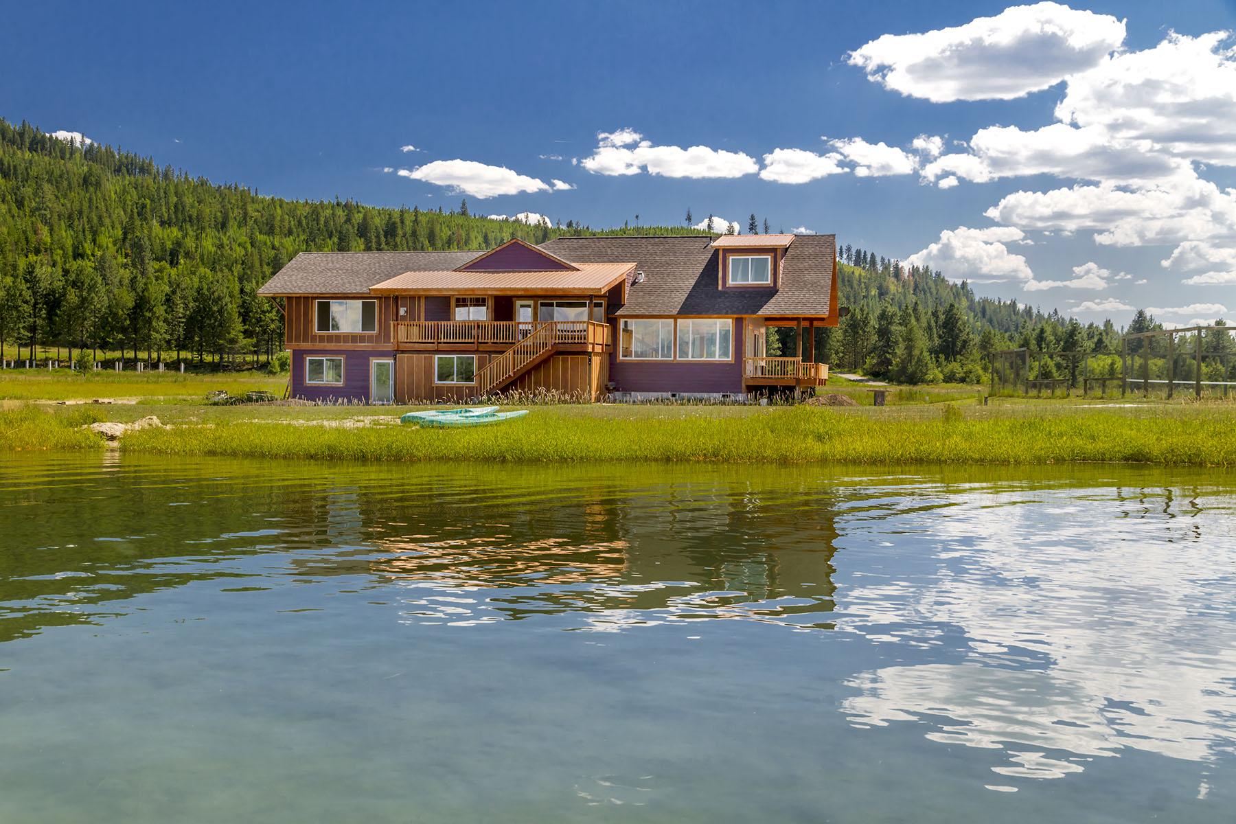 Casa Unifamiliar por un Venta en 366 Swan's Landing 366 Swans Landing Sagle, Idaho, 83860 Estados Unidos