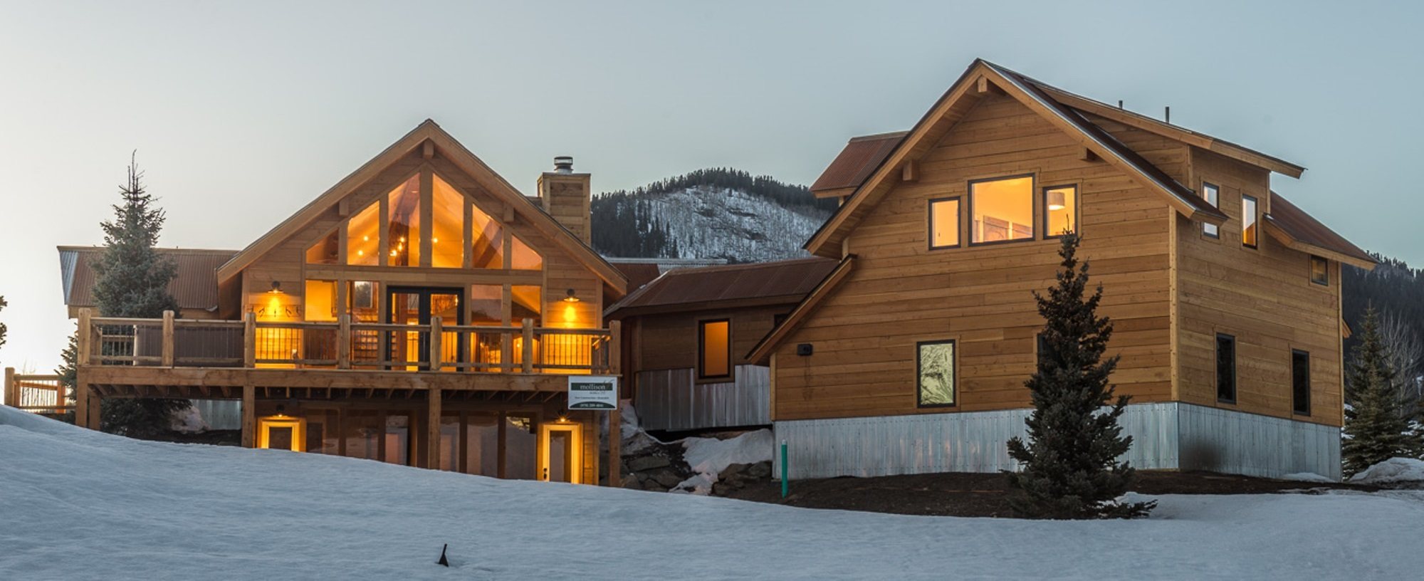 Vivienda unifamiliar por un Venta en Custom Mountain Chalet Mount Crested Butte, Colorado 81225 Estados Unidos