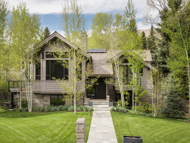 Single Family Home for Sale at Villa de Rosa 310 West Francis Street West End, Aspen, Colorado 81611 United States