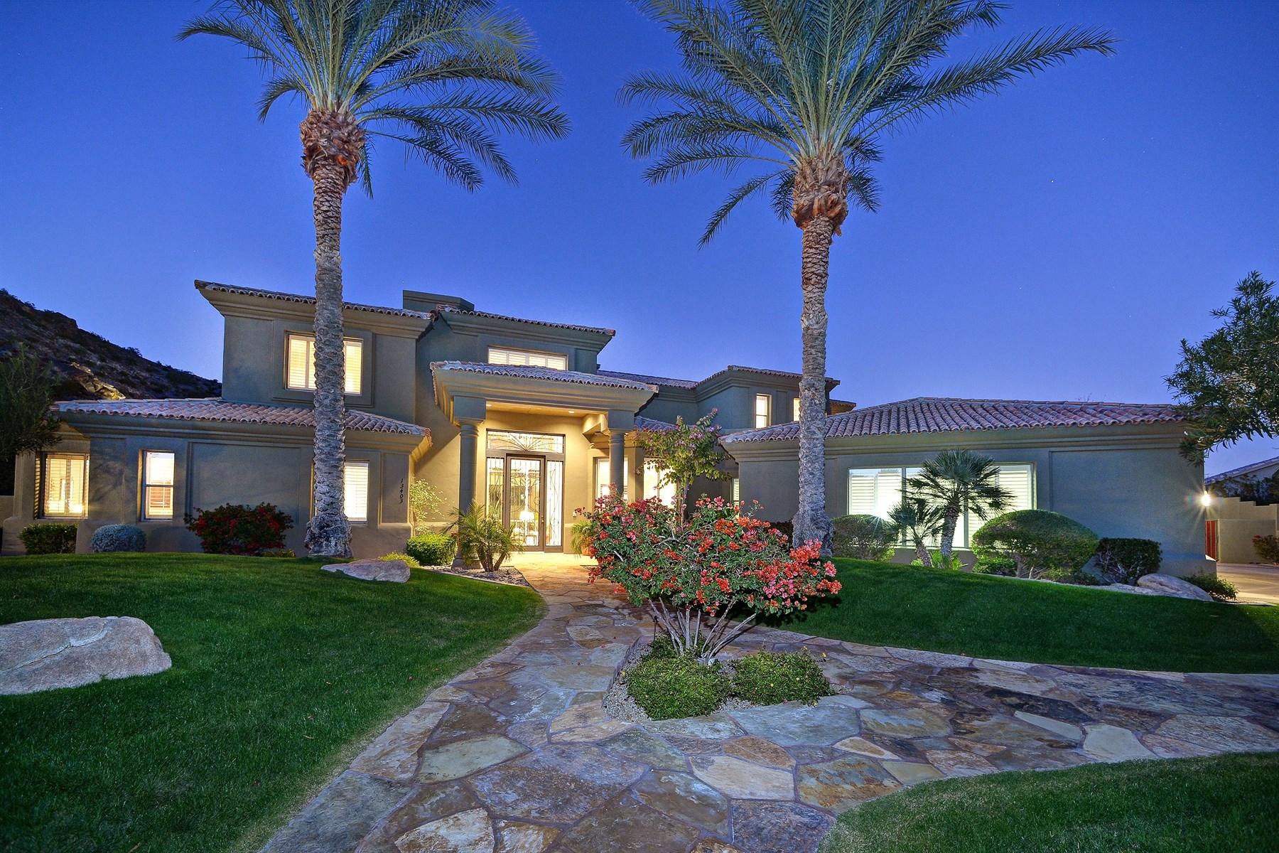 Maison unifamiliale pour l Vente à Convenience And Luxurious Living With Exceptional Mountain Views And Privacy 13403 S 33rd Court Phoenix, Arizona 85044 États-Unis