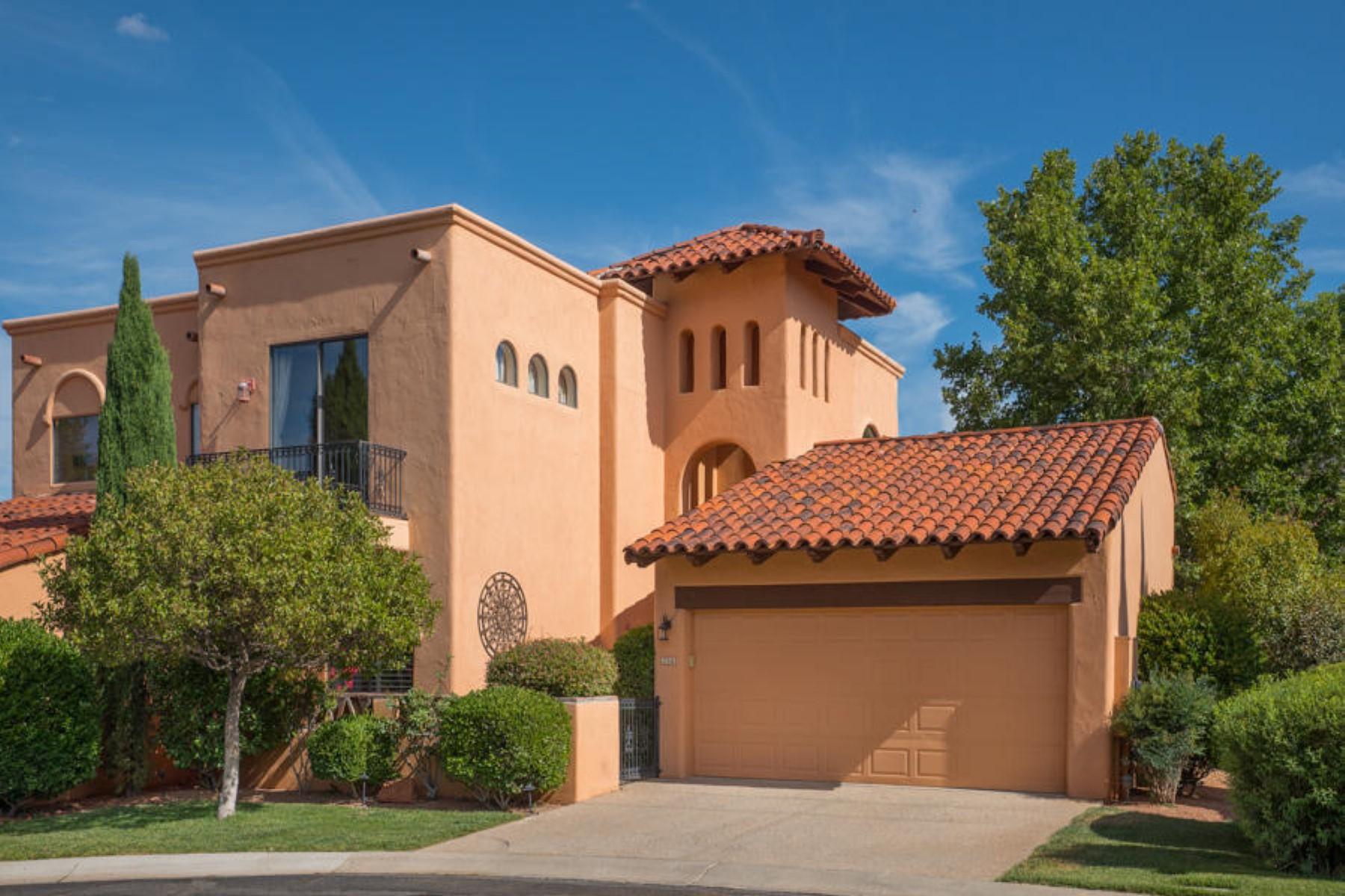 Частный односемейный дом для того Продажа на The Ridge at Sedona is a gorgeous gated community with resort amenities 26 Rim Trail Circle Sedona, Аризона 86351 Соединенные Штаты