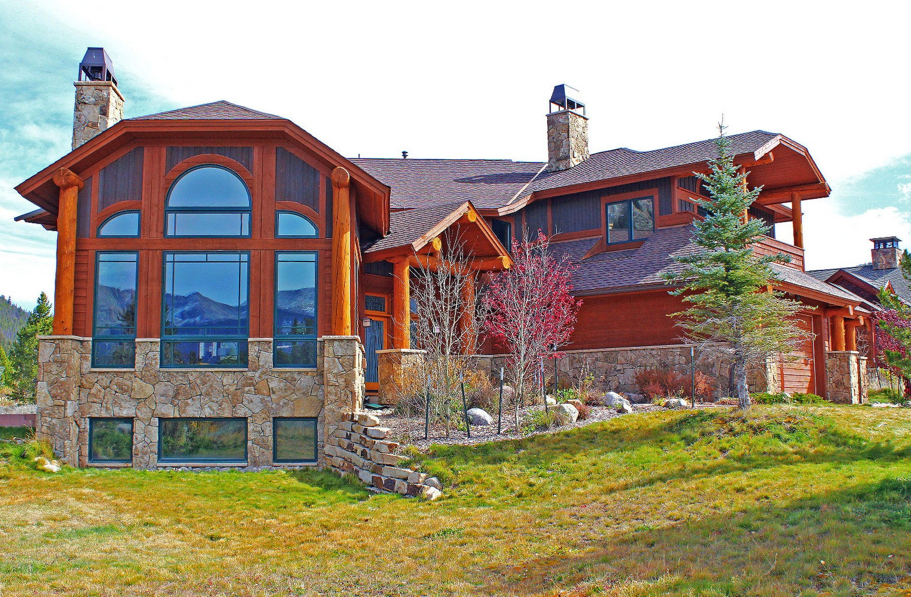 Single Family Home for Sale at Highlands Luxury with Stunning Views From Almost Every Room 46 Buffalo Terrace Breckenridge, Colorado, 80424 United States