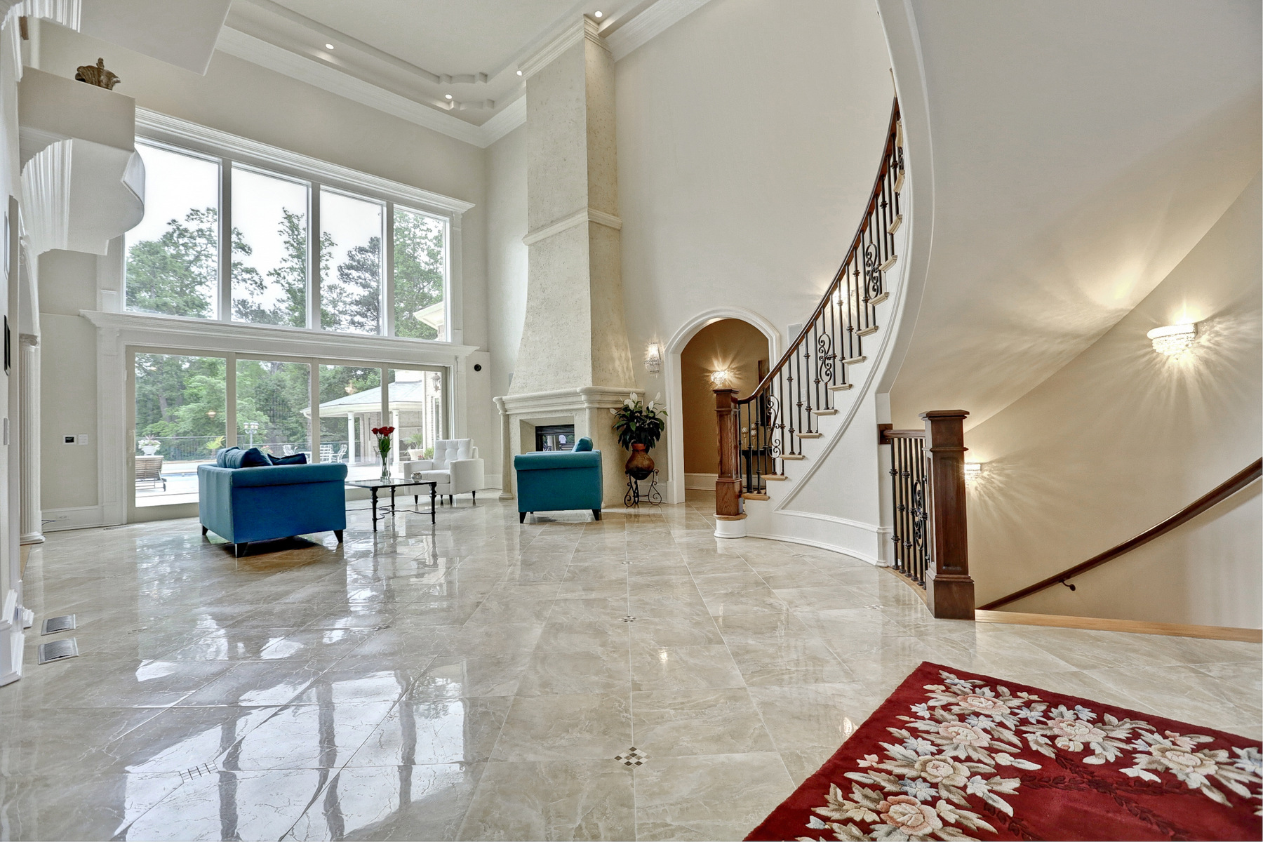 Additional photo for property listing at Stunning Private Estate 1625 Sunnybrook Farm Road Sandy Springs, Georgia 30350 Stati Uniti