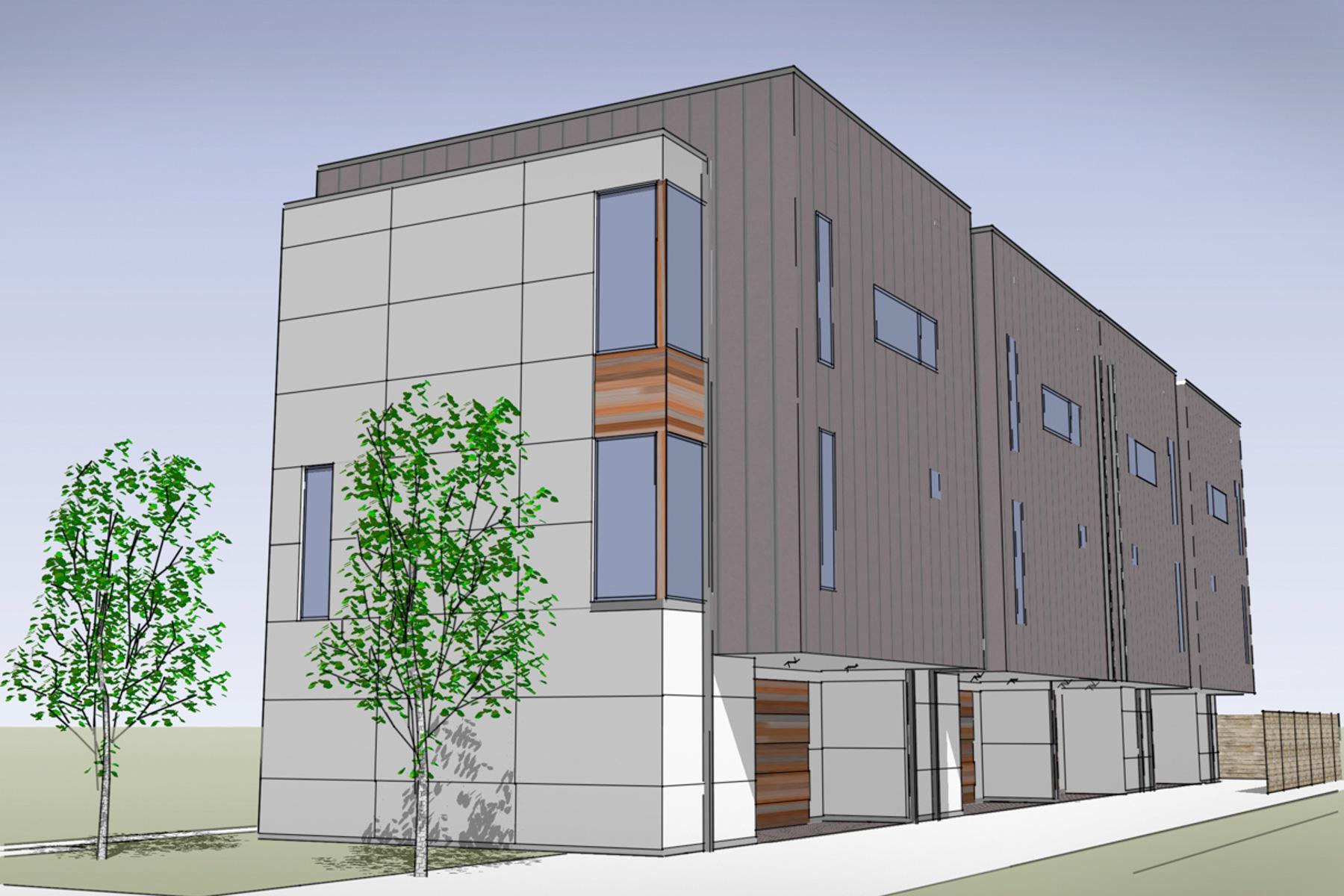 多棟聯建住宅 為 出售 在 New Construction Modern Condo in Lower Greenville 5705 Bryan Pkwy A Dallas, 德克薩斯州, 75206 美國