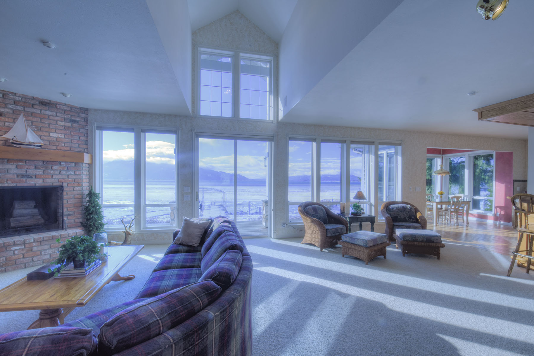 Single Family Home for Sale at Amazing waterfront views 146 Osprey Lane Sandpoint, Idaho 83864 United States