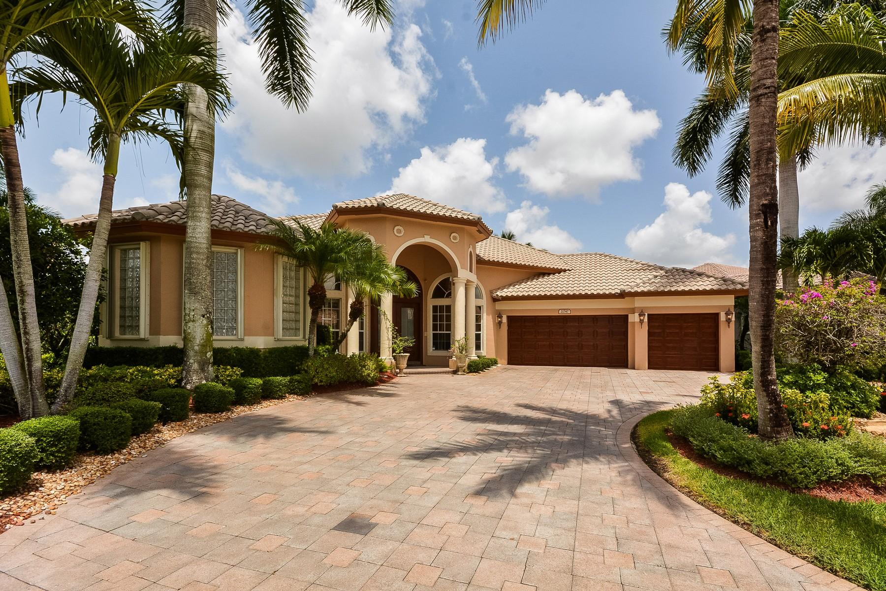 獨棟家庭住宅 為 出售 在 21747 Fall River Dr , Boca Raton, FL 33428 21747 Fall River Dr Boca Raton, 佛羅里達州 33428 美國