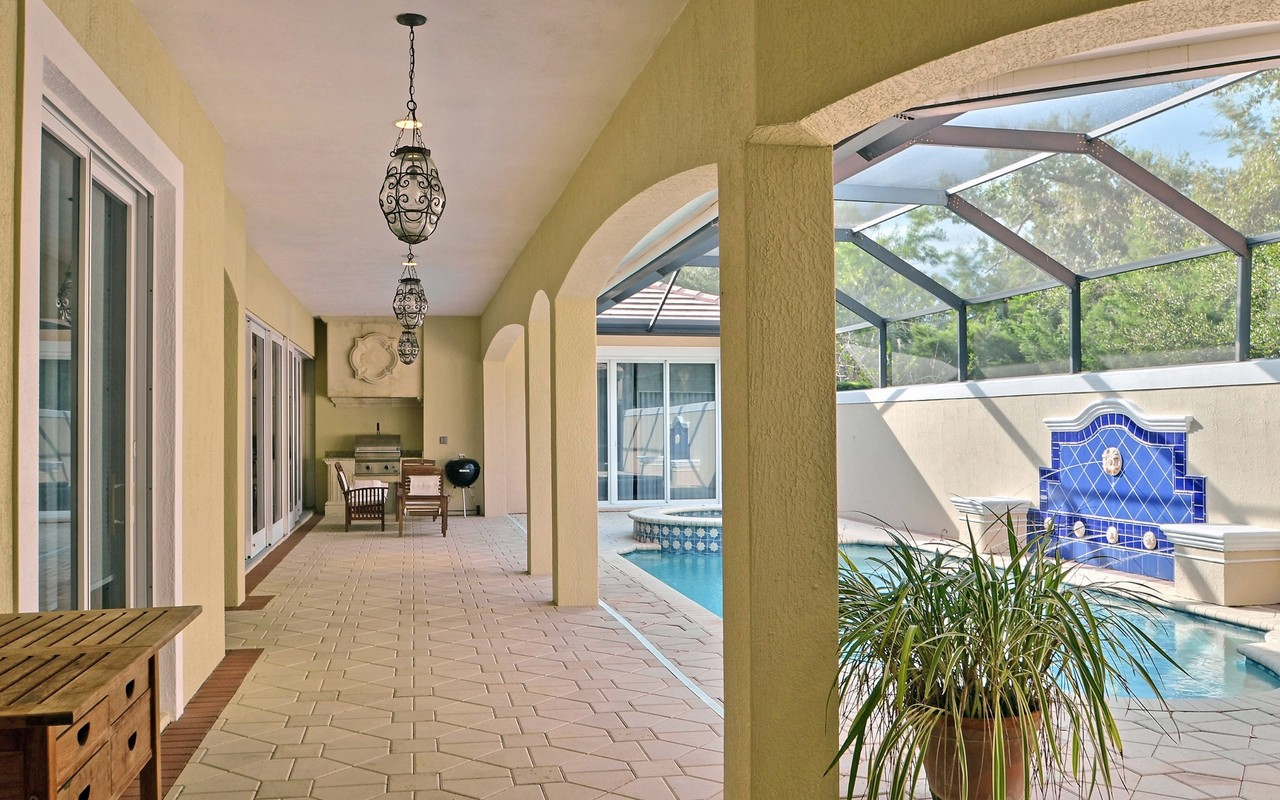 Single Family Home for Sale at Luxurious Home in River Club 1714 Lake Club Court Vero Beach, Florida, 32963 United States