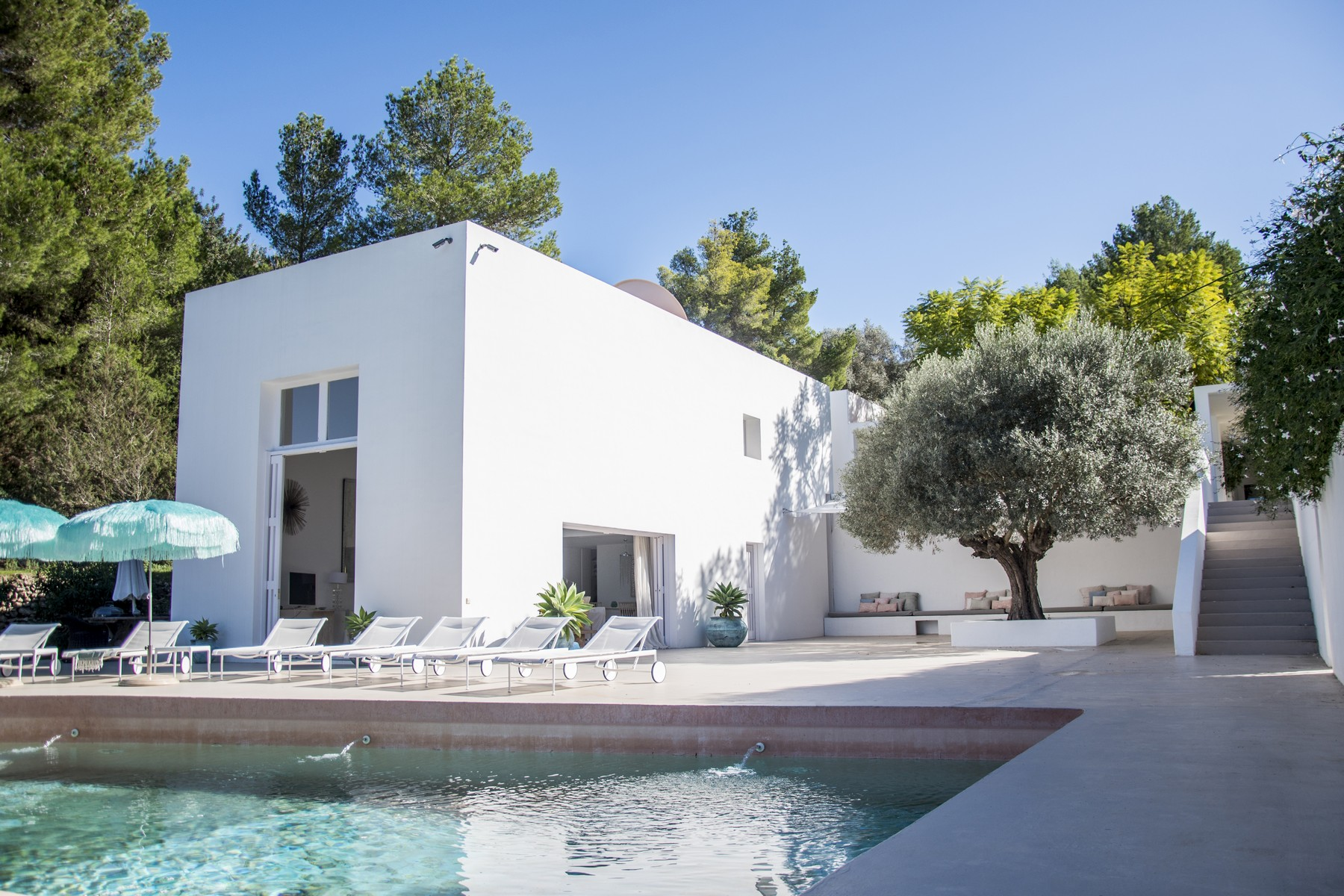Single Family Home for Sale at West Facing Minimalist Villa Set In San Juan San Juan, Ibiza, 07810 Spain