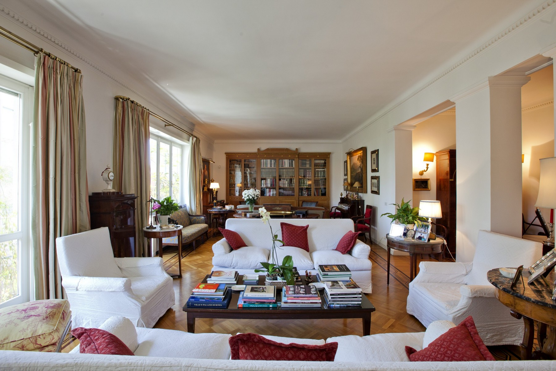 Apartment for Sale at Splendid Rome Apartment Pietro Antonio Micheli Rome, Rome, 00197 Italy